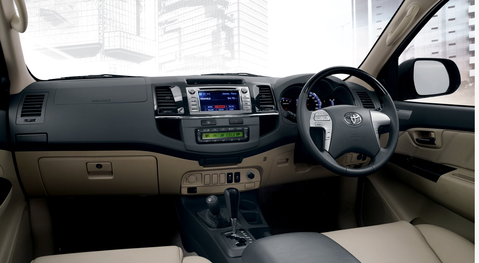 Toyota Fortuner Ltd Interior