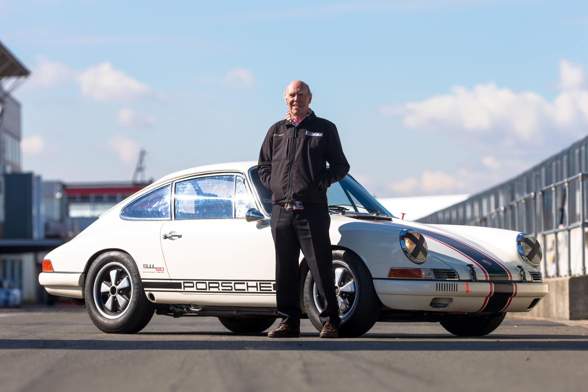 1970 Le Mans winner Richard Attwood, 1965 Porsche 911 Project 50
