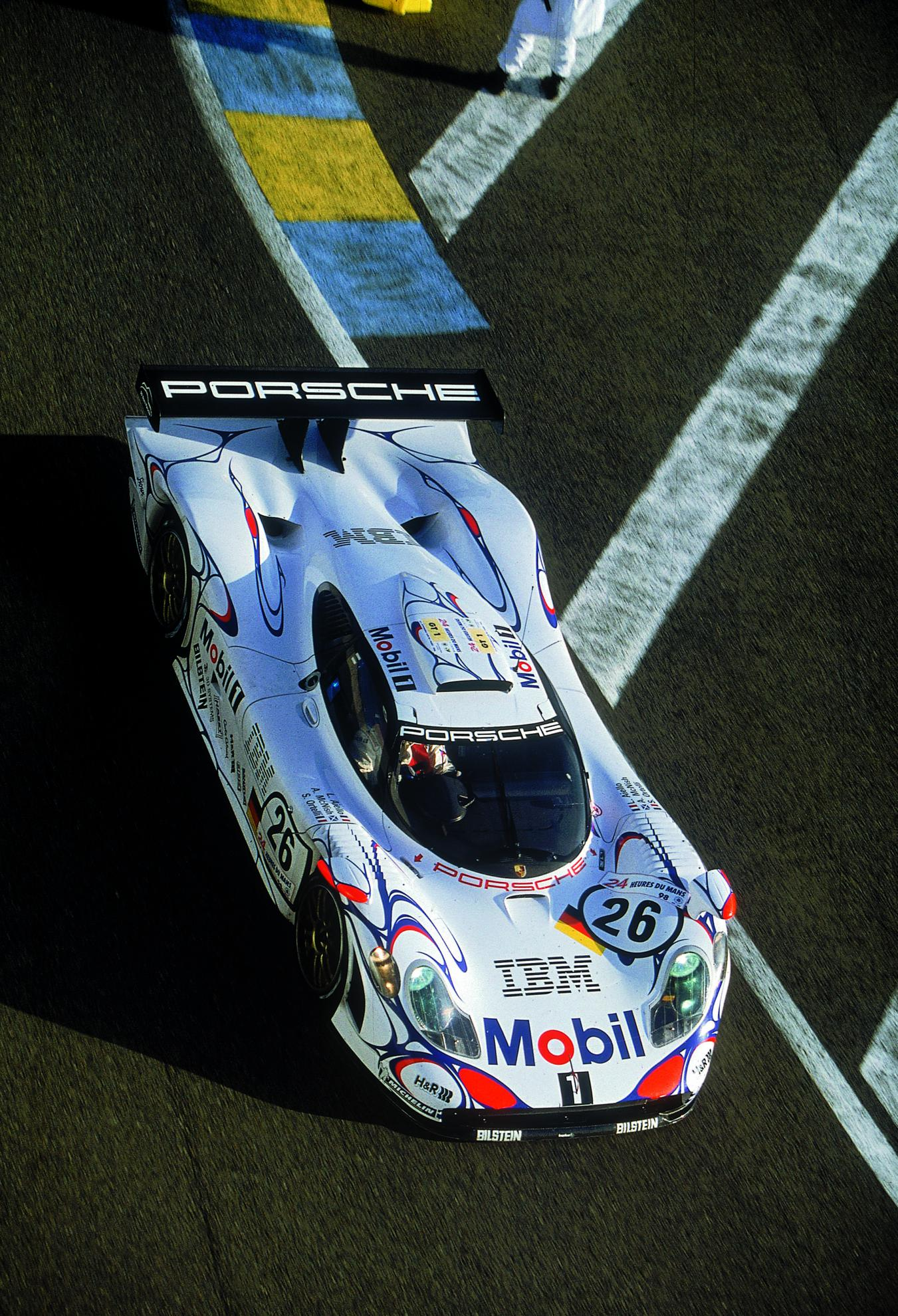 Porsche 911 GT1 which won Le Mans 1998