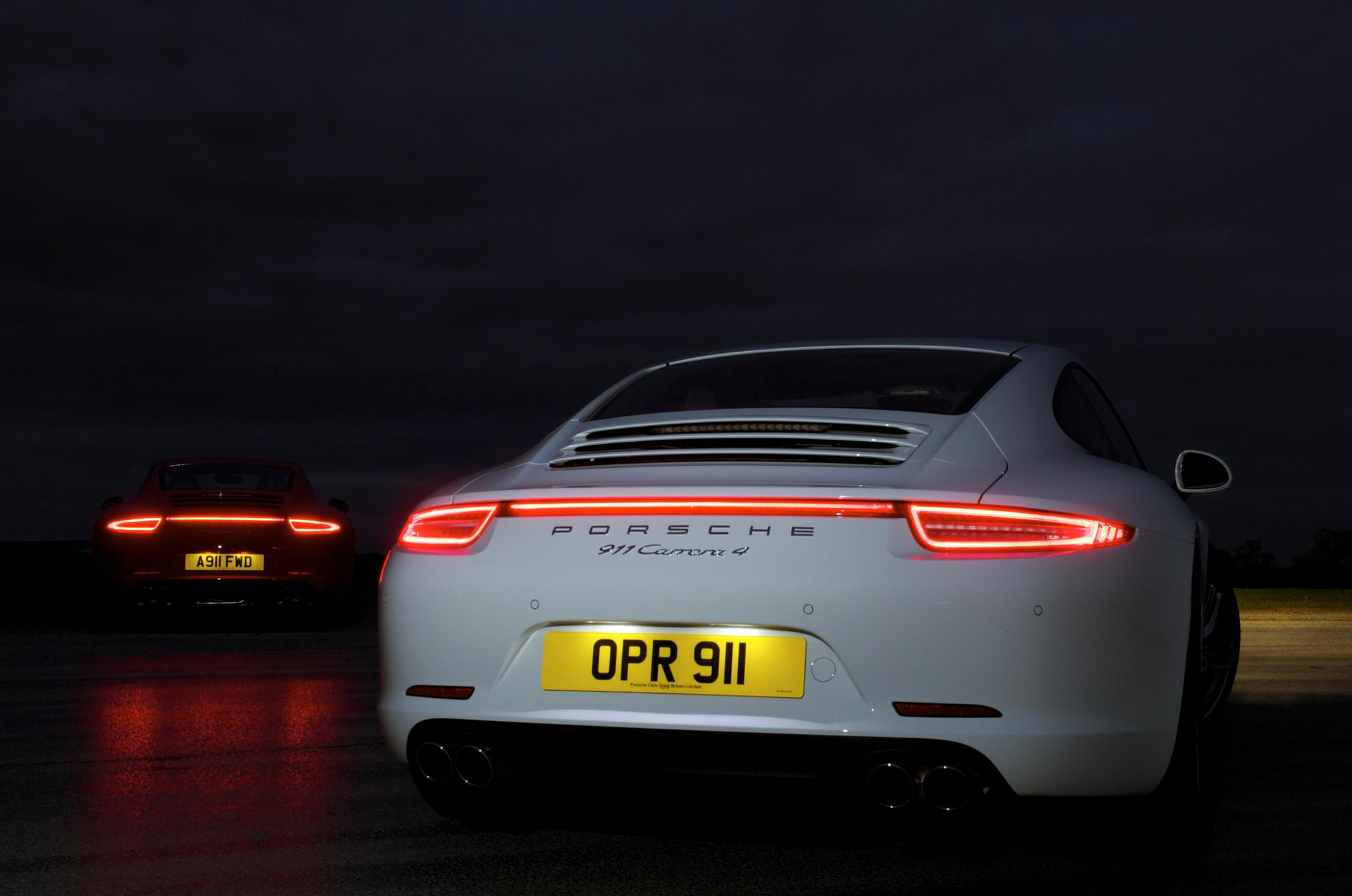 The new Porsche 911 Carrera 4 and 4S