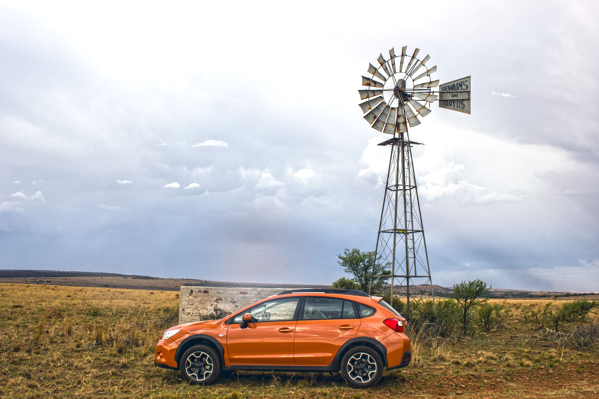 Game Drive Image of the Subaru XV Test Drive in South Africa