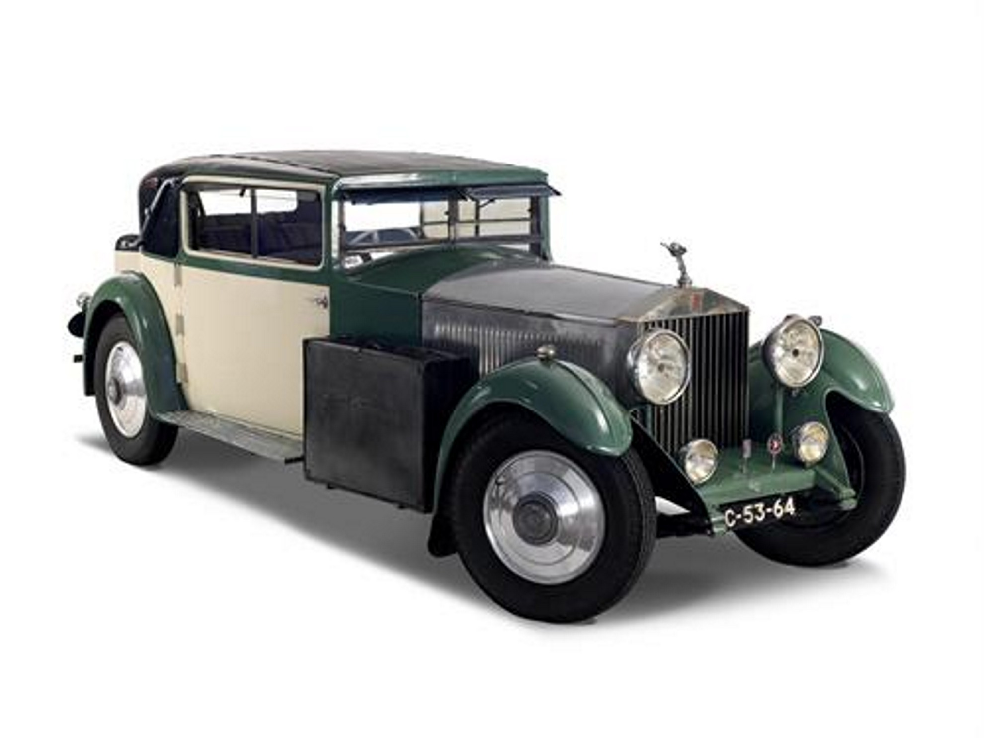 The 1932 Rolls Royce Phantom II