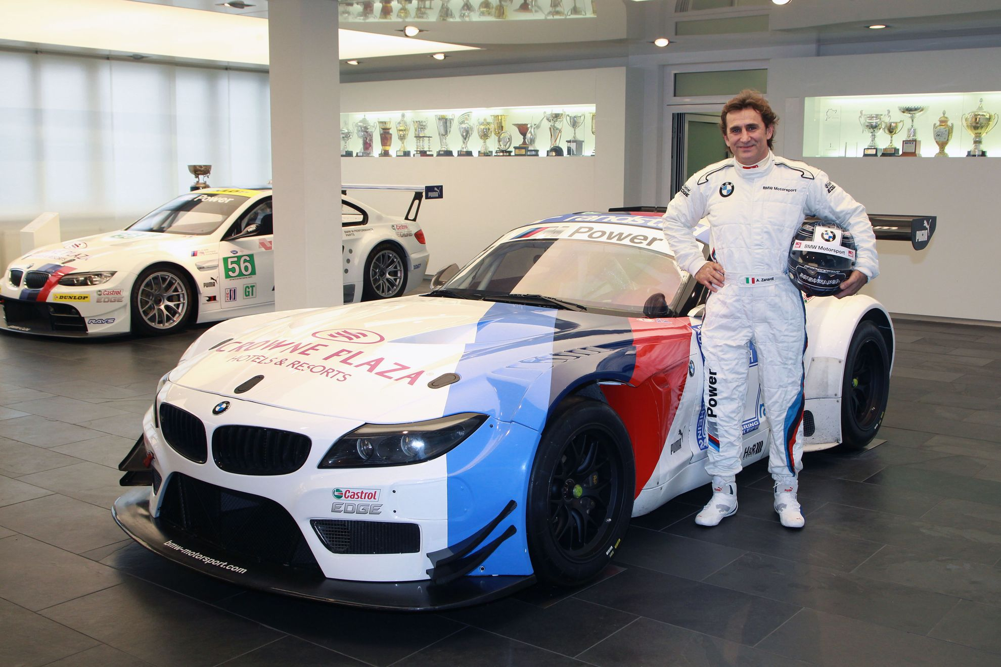 Alessandro Zanardi Returns To The Cockpit With Bmw
