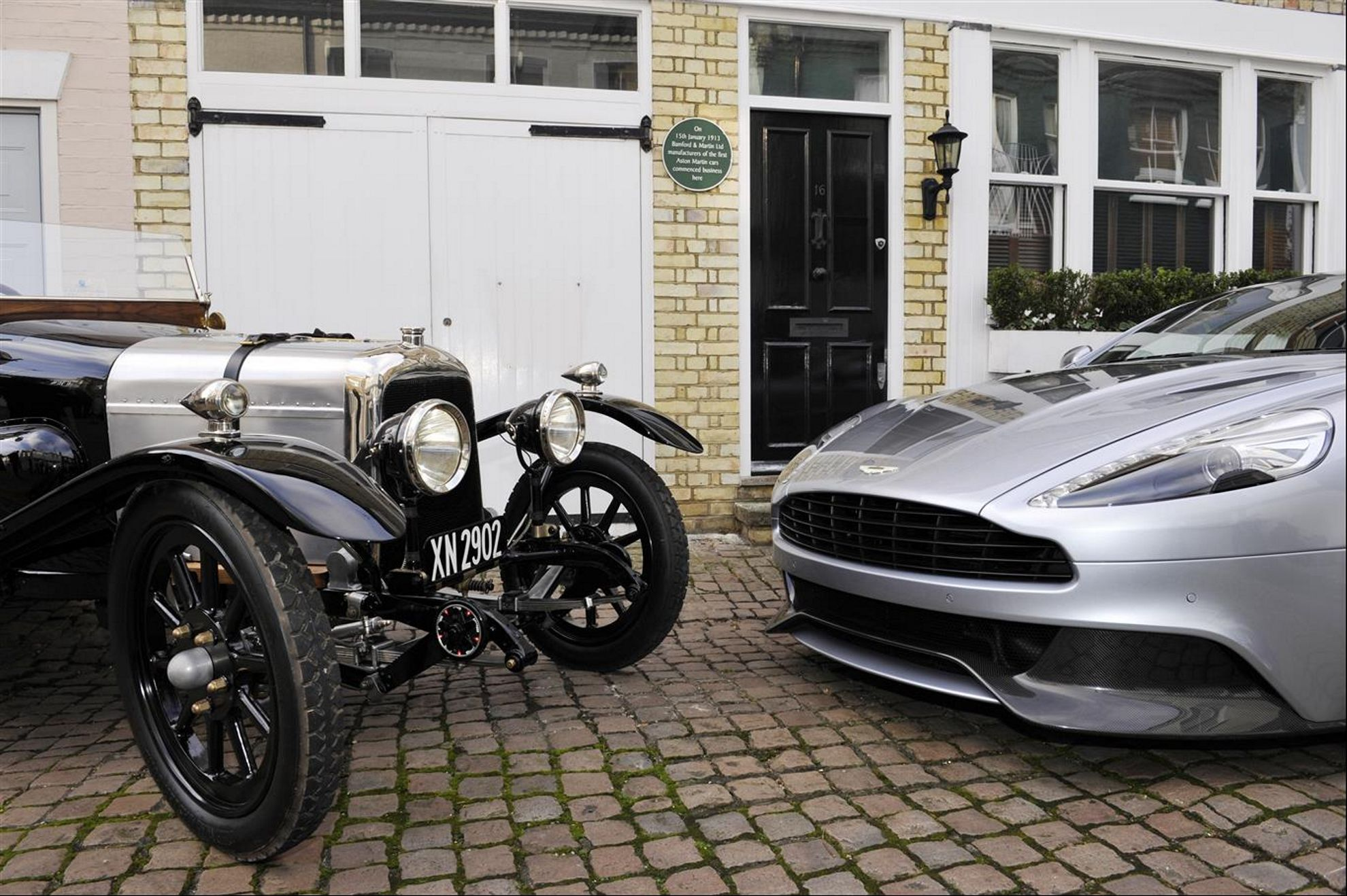 aston martin 100 years of sports car excellence. Black Bedroom Furniture Sets. Home Design Ideas