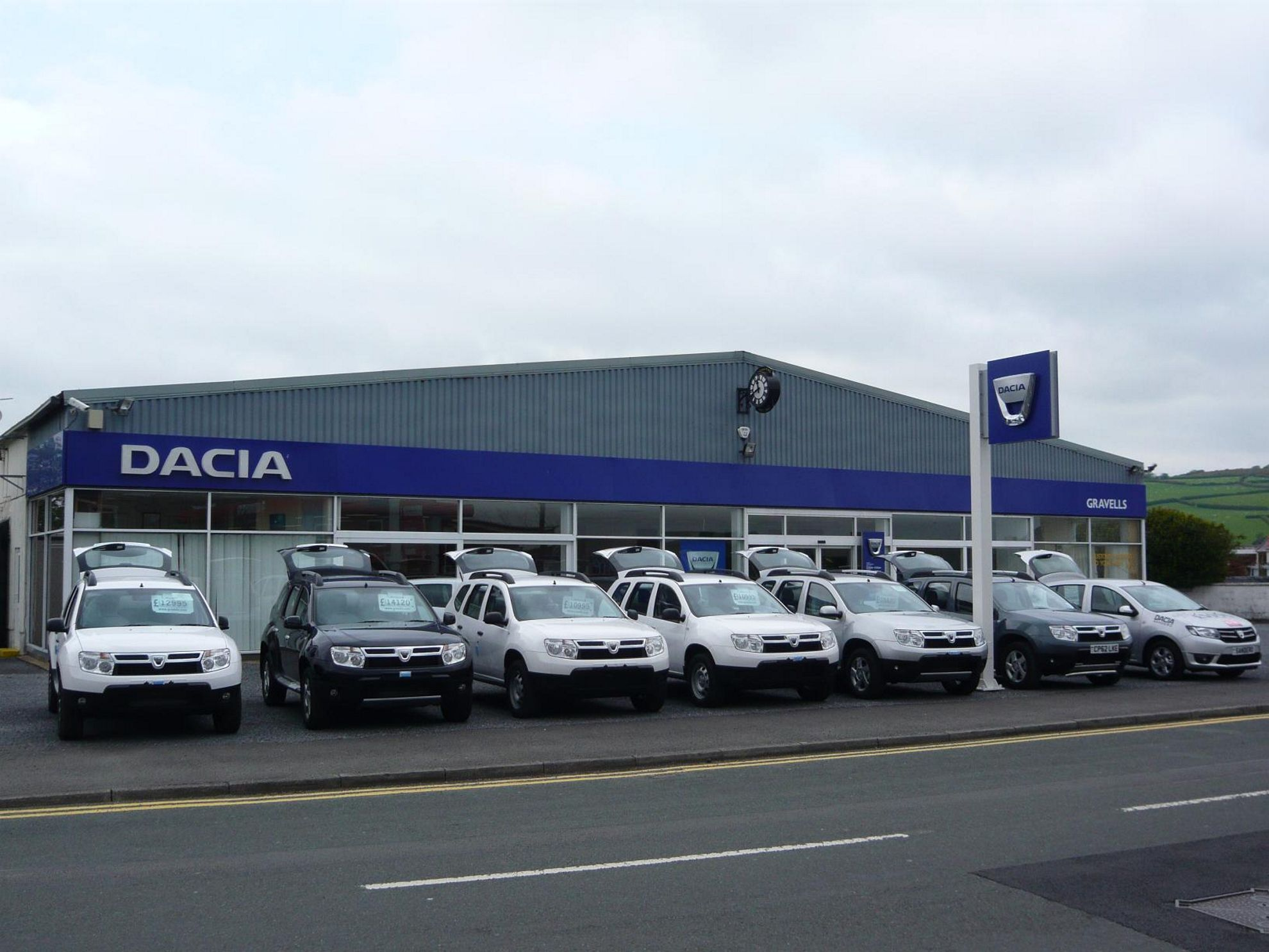 Dacia Dealership