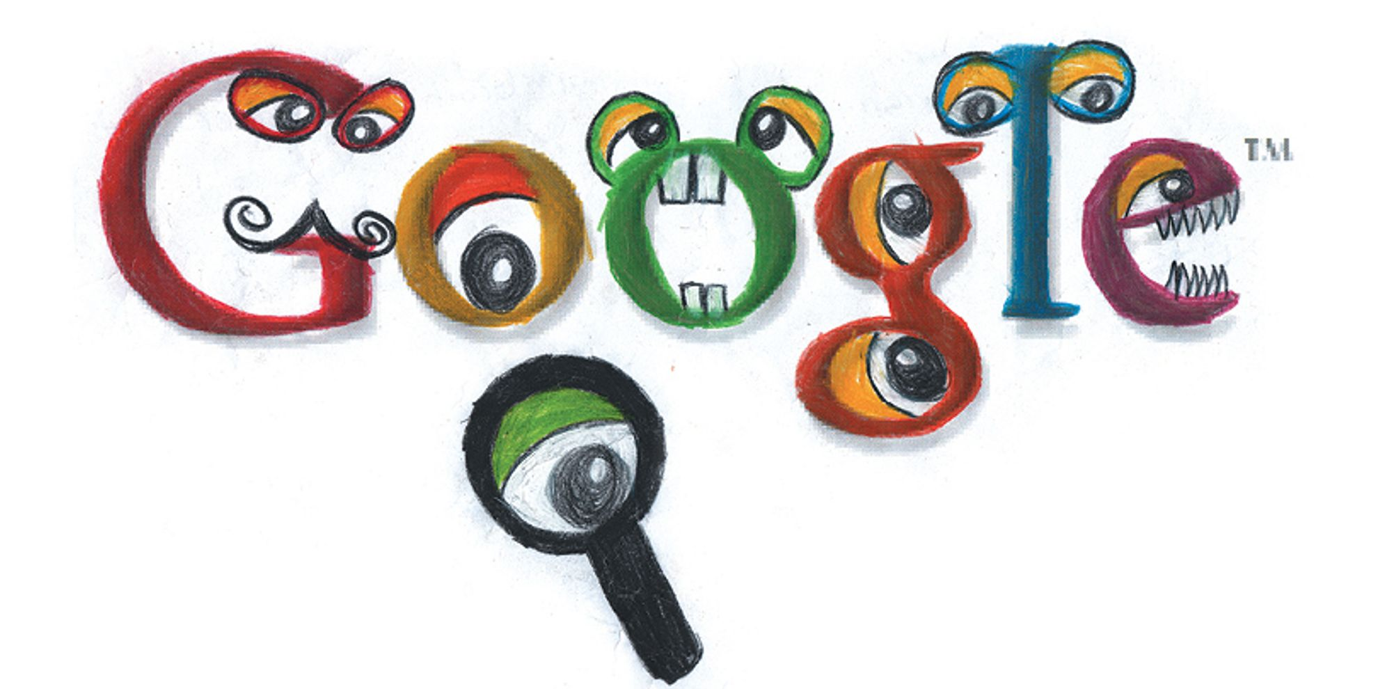 Doodle 4 Google 2013 Years 1-3 Winner: Designed By Ryan Yoon from the ...