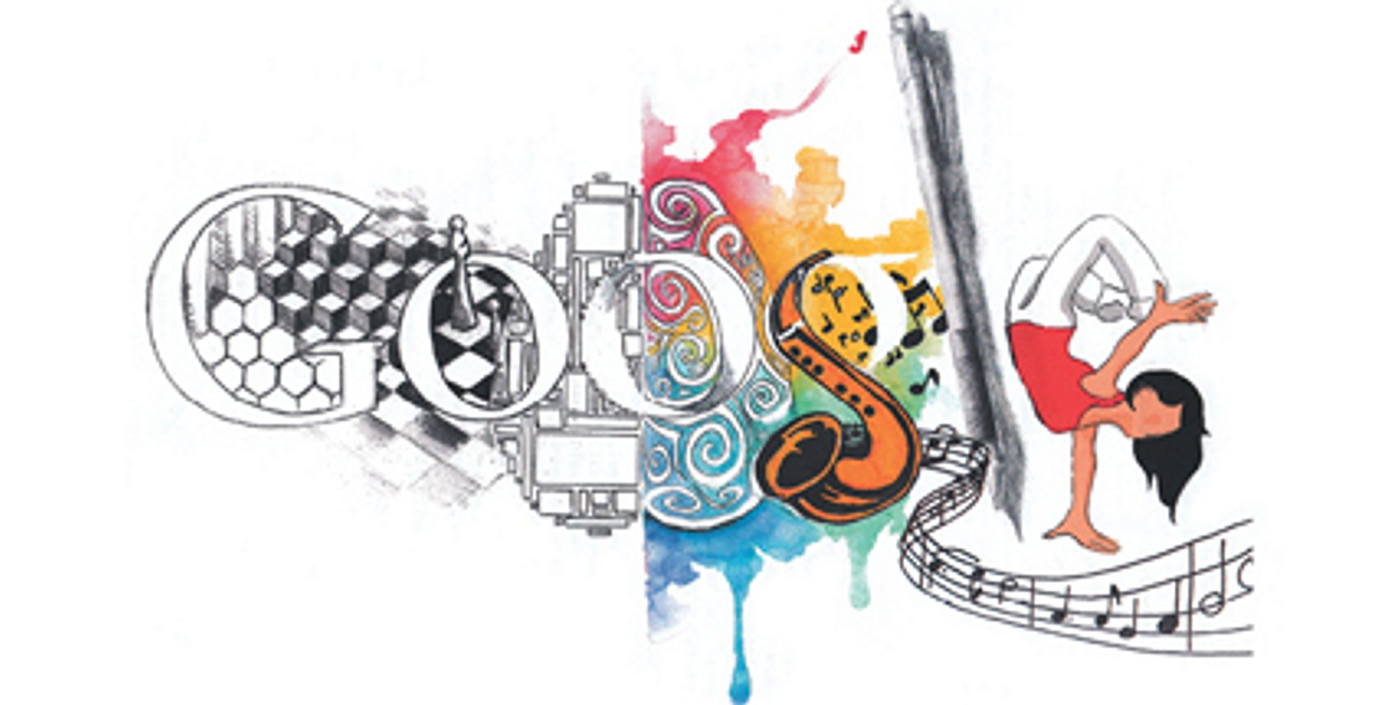 Google themes of the day