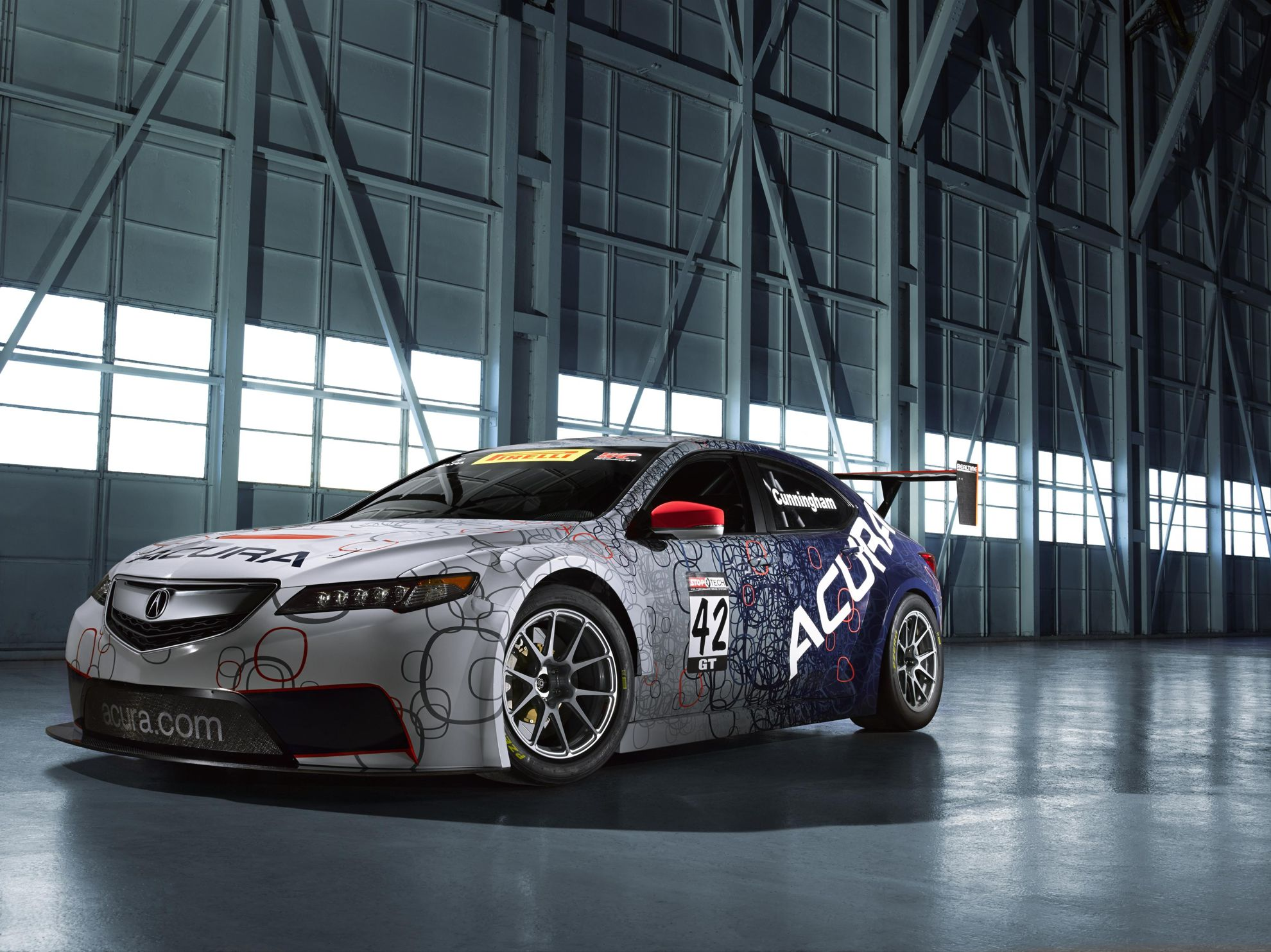 ACURA TLX GT RACE CAR UNVEILED AT NORTH AMERICAN INTERNATIONAL AUTO on