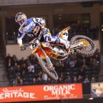 Red Bull KTM Factory rider Ken Roczen at Anaheim