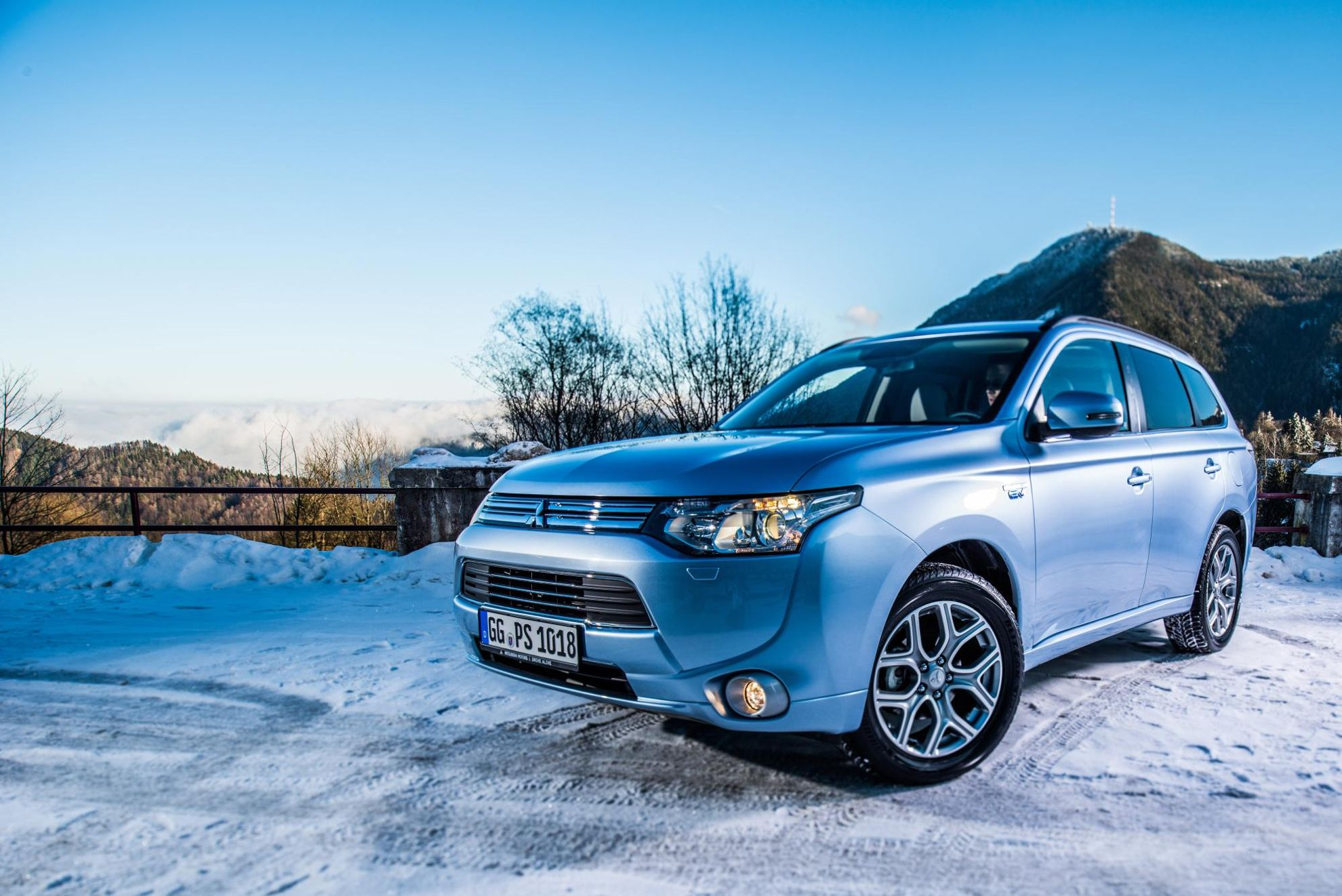 Mitsubishi outlander electric vehicle