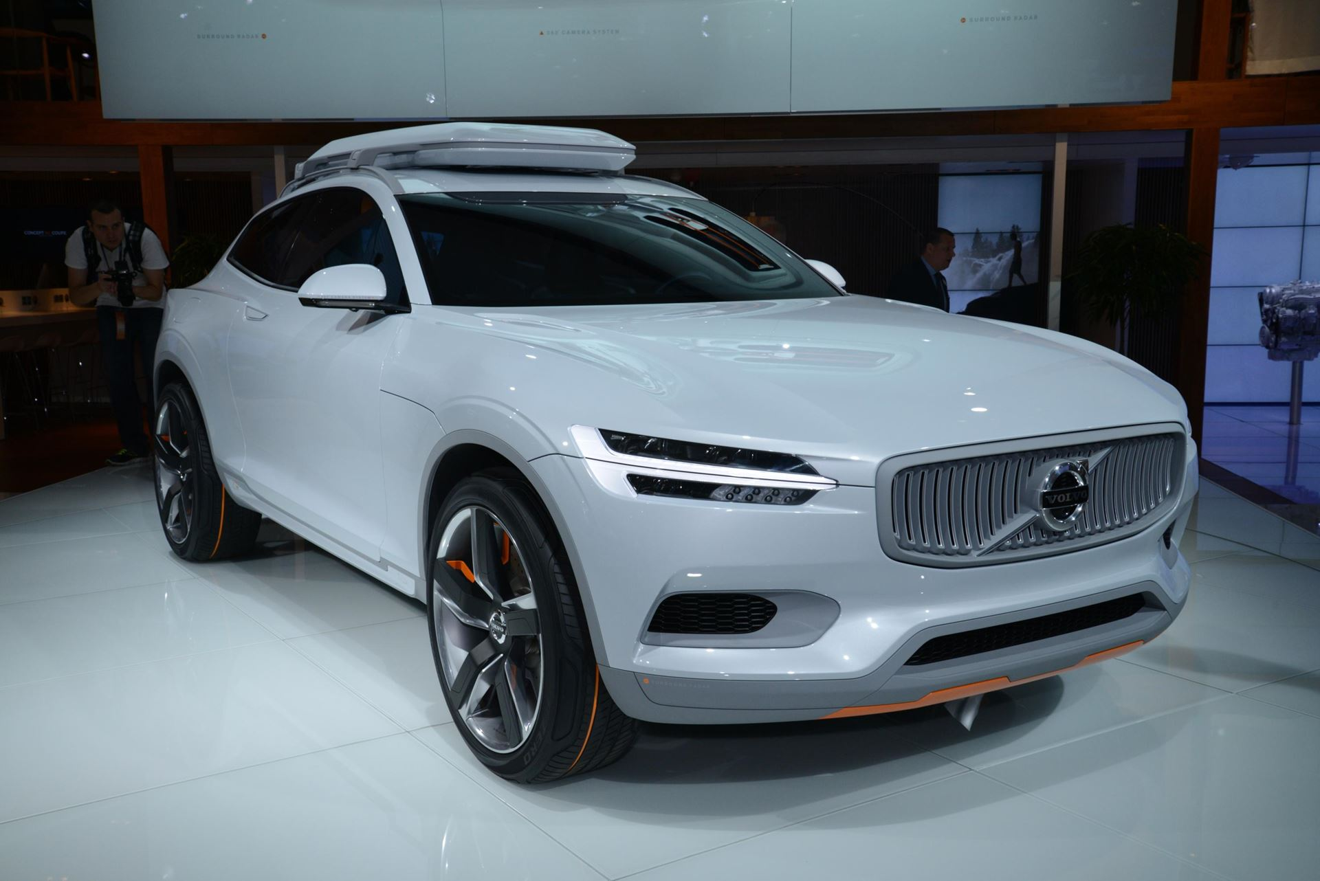 car volvo concept car naias 2014 technology tips. Black Bedroom Furniture Sets. Home Design Ideas