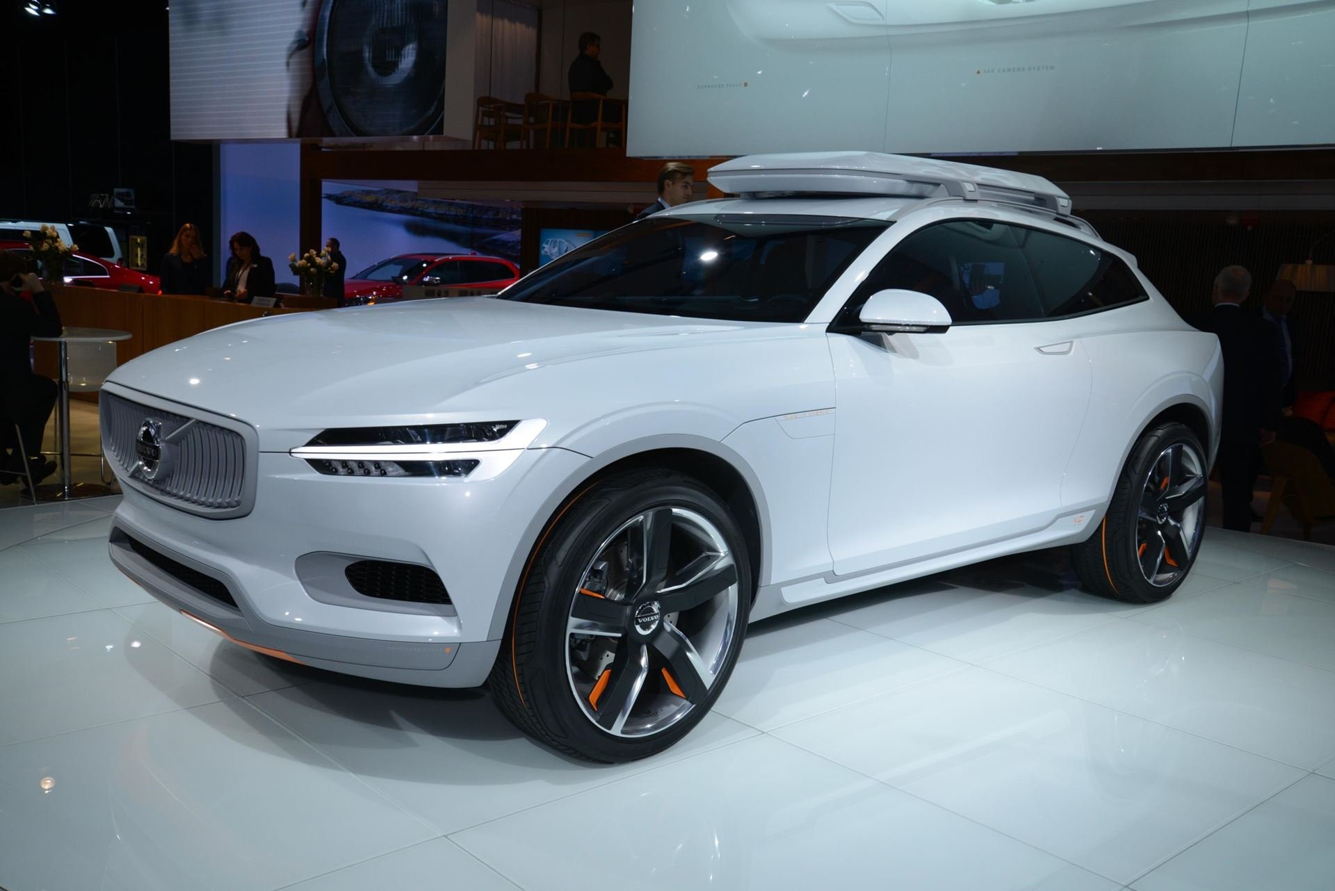 Volvo Concept Car Naias 2014