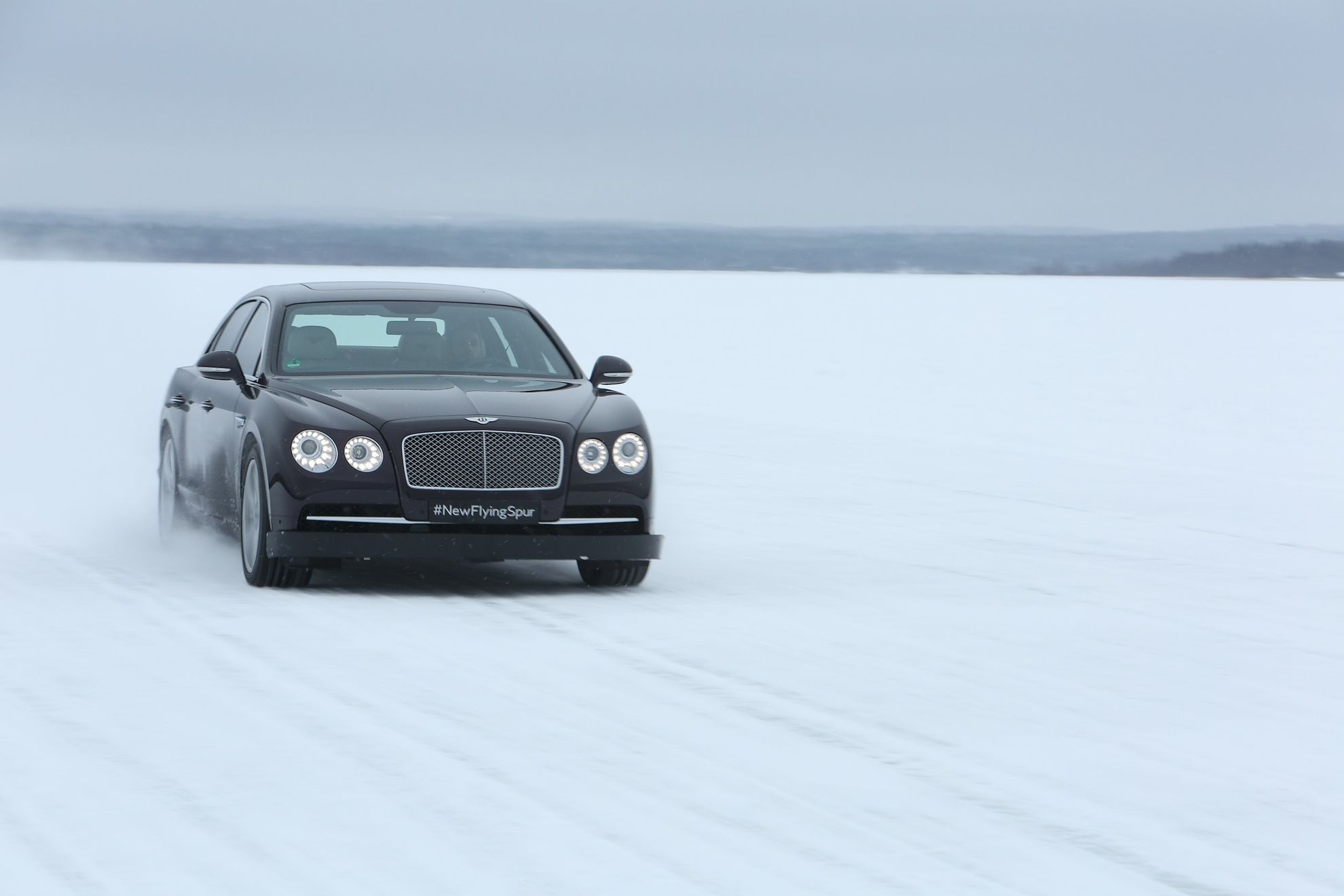 Bentley-on-ice