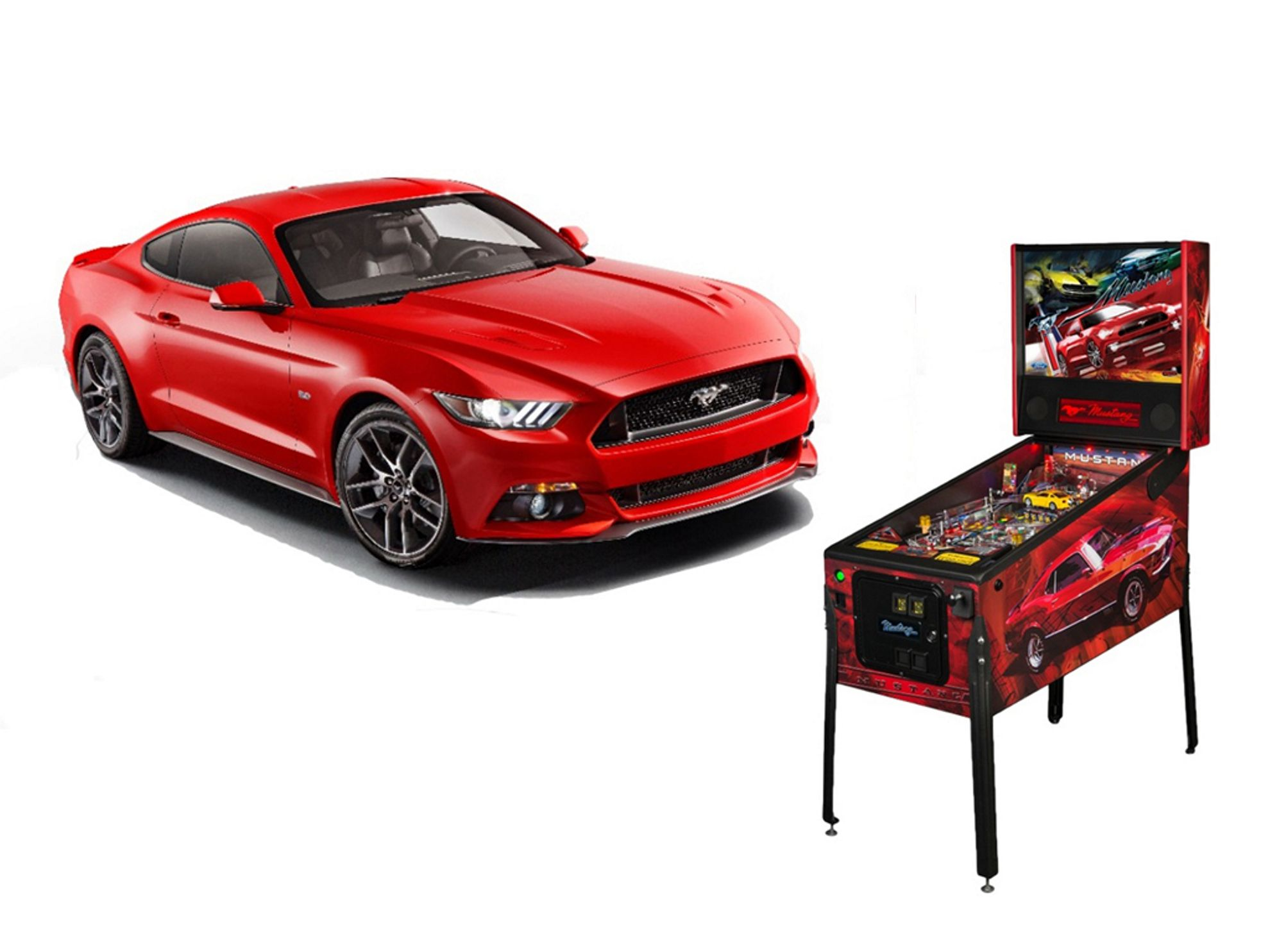Car Games Ford Mustang Pinball Game - Car show games