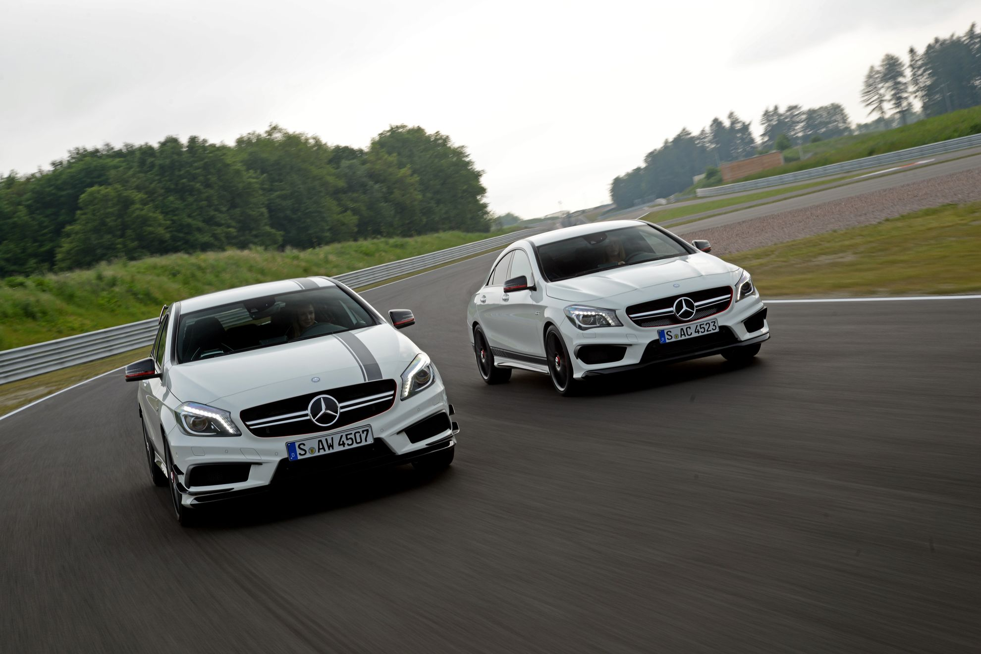 Record car sales year for mercedes benz amg for Mercedes benz salesman