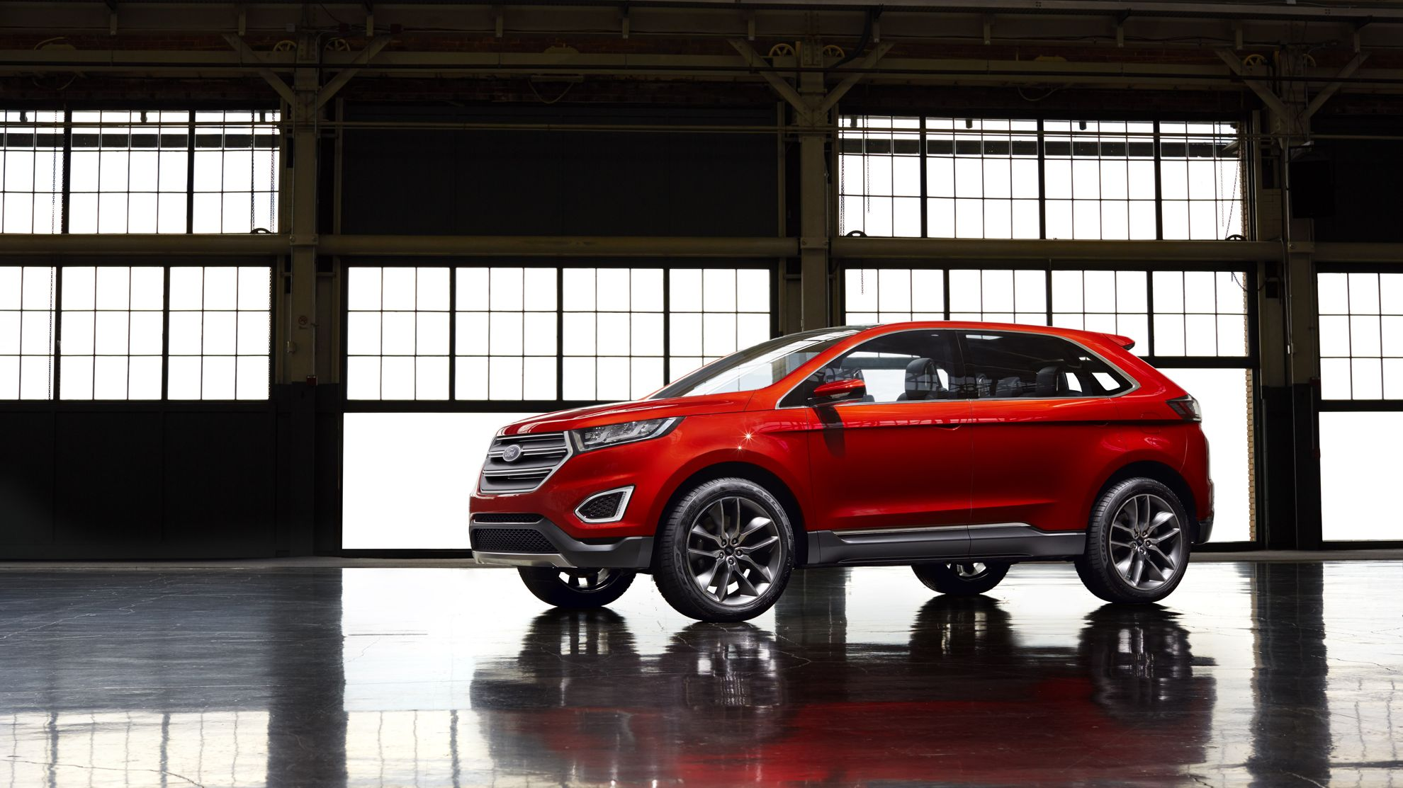 Ford Of Canadas Oakville Assembly Plant Will Build The All New Ford Edge Global Utility Vehicle Shipping It From Canada To More Than  Countries As