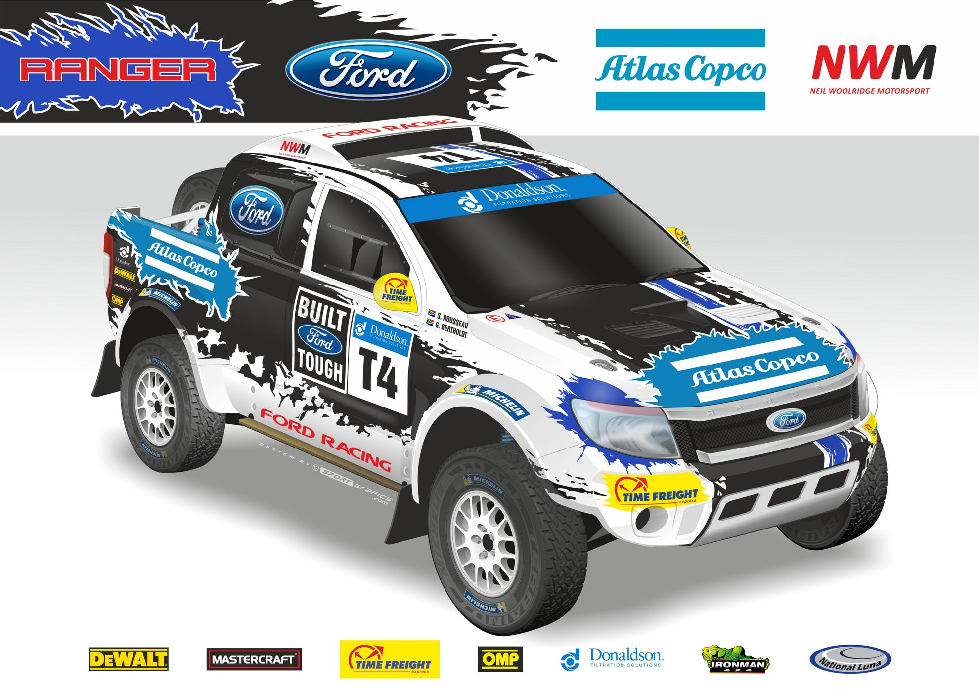 Ford Racing Tackles 2014 Donaldson Sa Cross Country