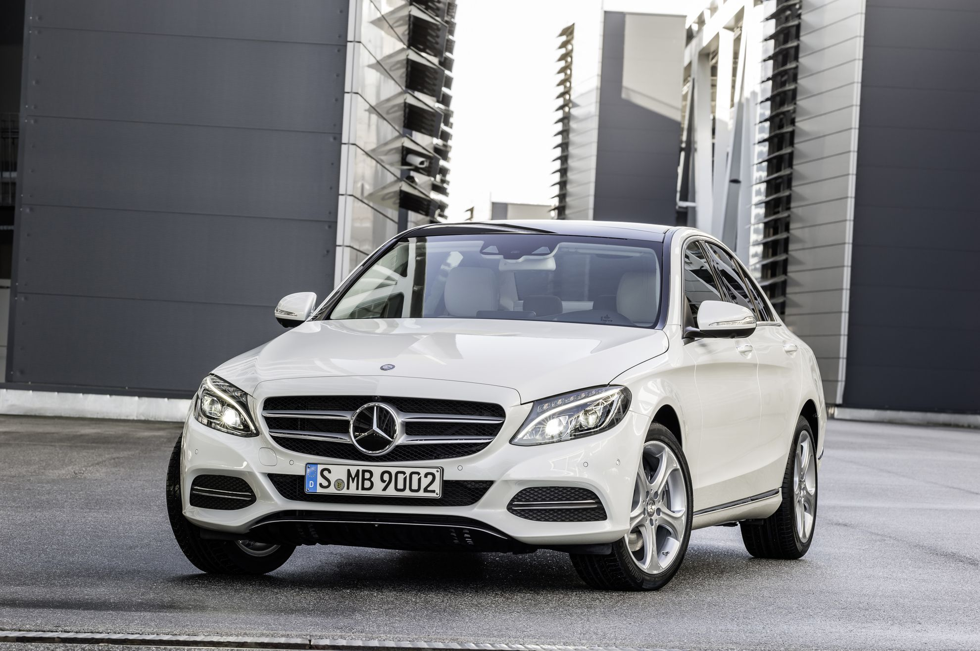 how much does a new mercedes benz c class cost in south