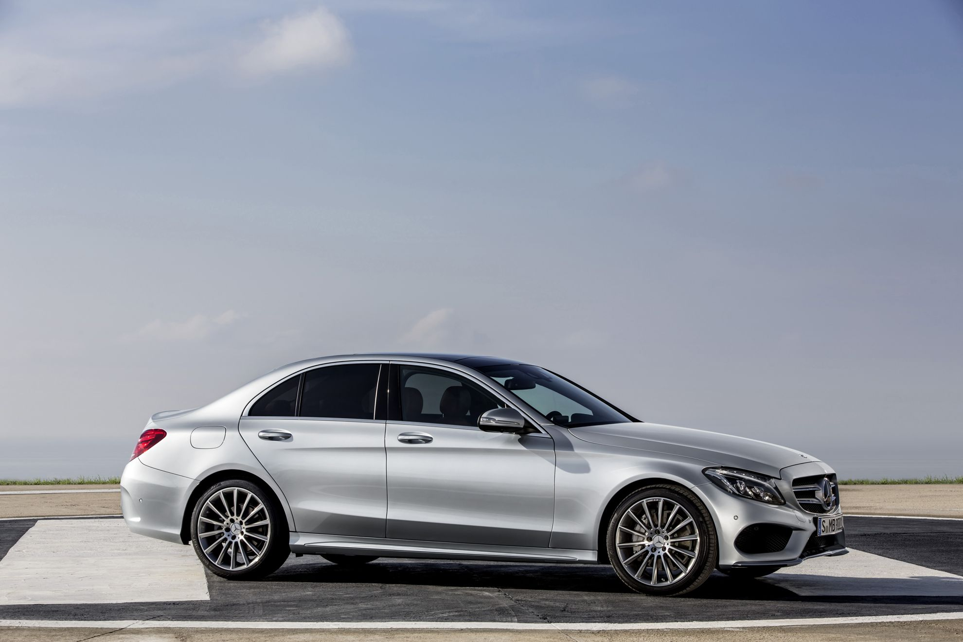 How much does a new mercedes benz c class cost in south for Mercedes benz new car prices