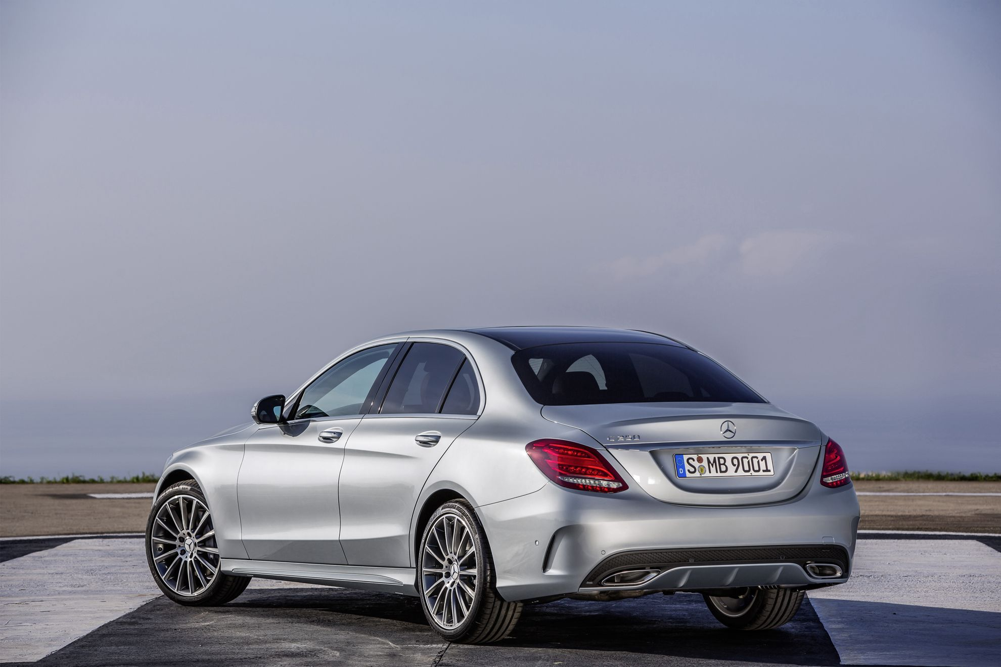 How much does a new mercedes benz c class cost in south for How much mercedes benz cost