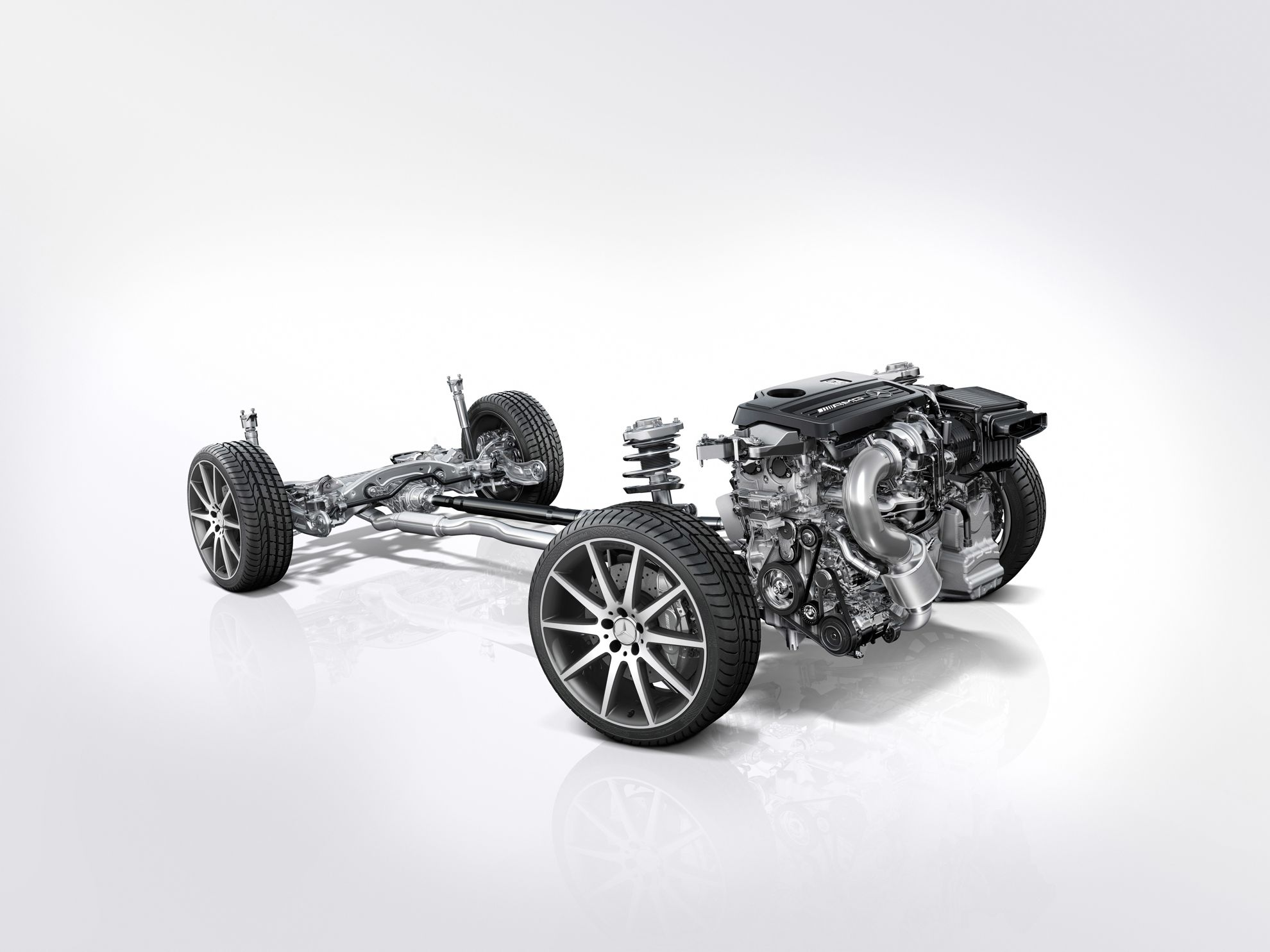 Mercedes-Benz GLA 2014 Chassis