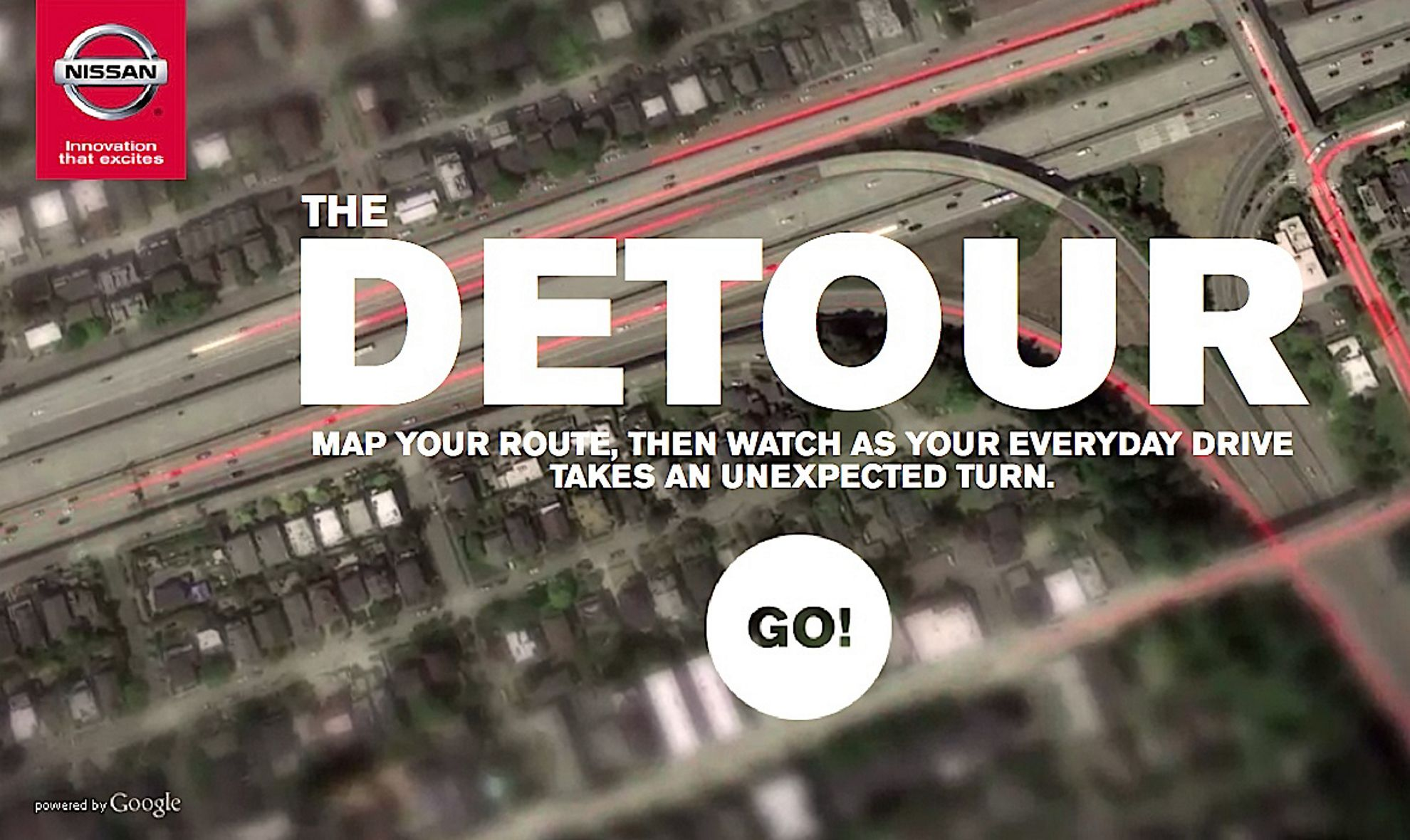 #TakeTheDetour