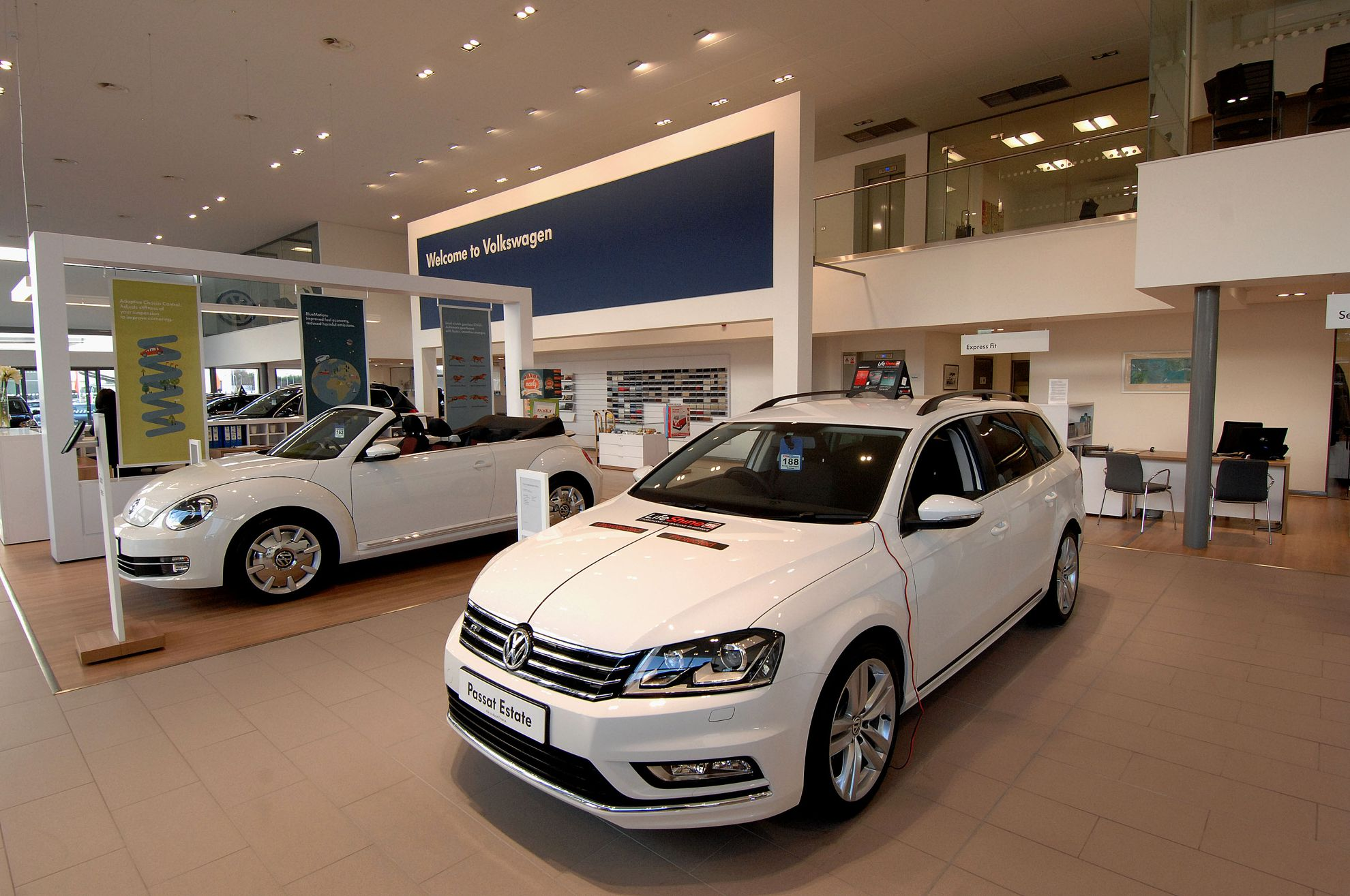 Volkswagen Dealership Sinclair In Swansea