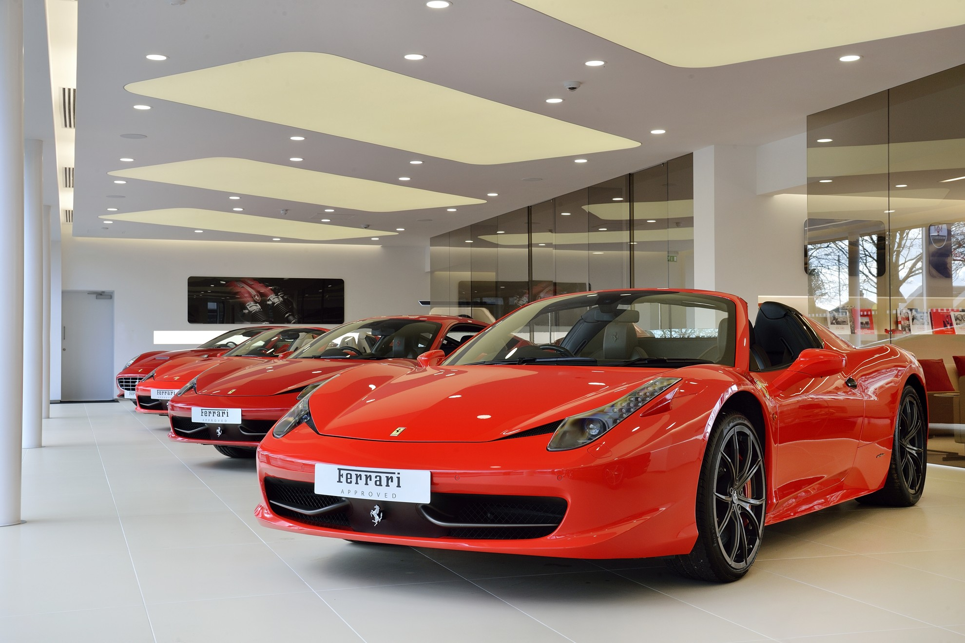 New Ferrari Showroom In Lancaster
