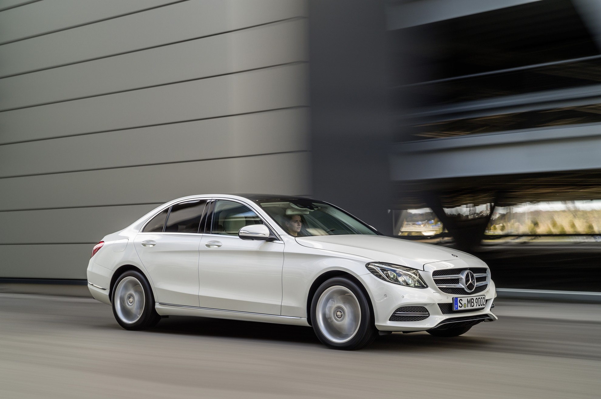 new mercedes benz c class sheer attraction