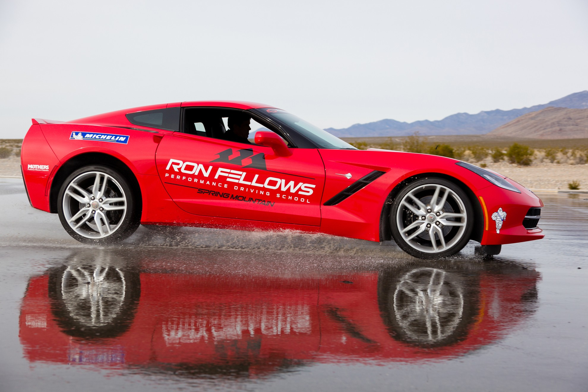 Ron Fellows Driving School For The Chevrolet Corvette