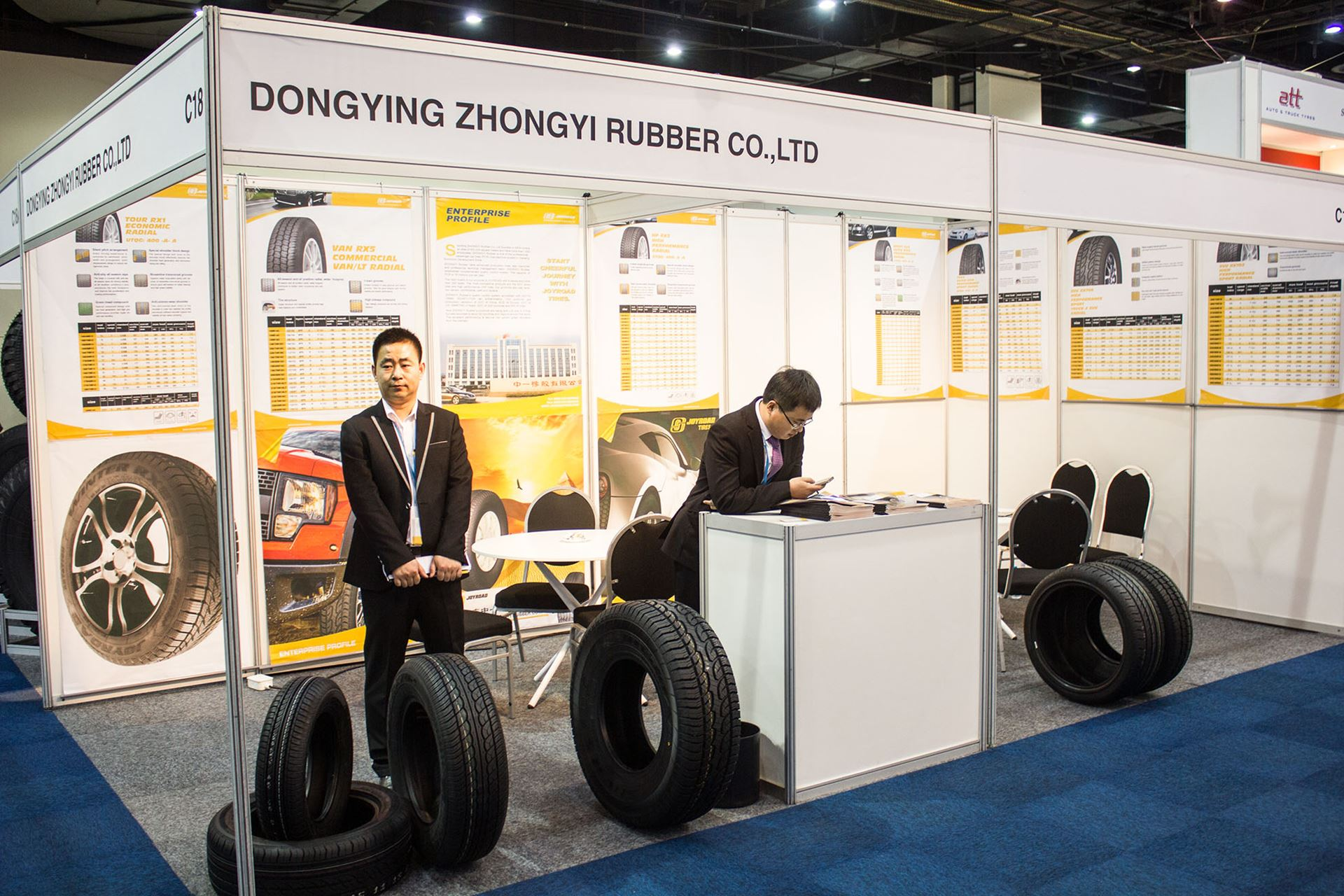 Tyre-Expo-South-Africa-2014-Dongying-zhonguy-tyres