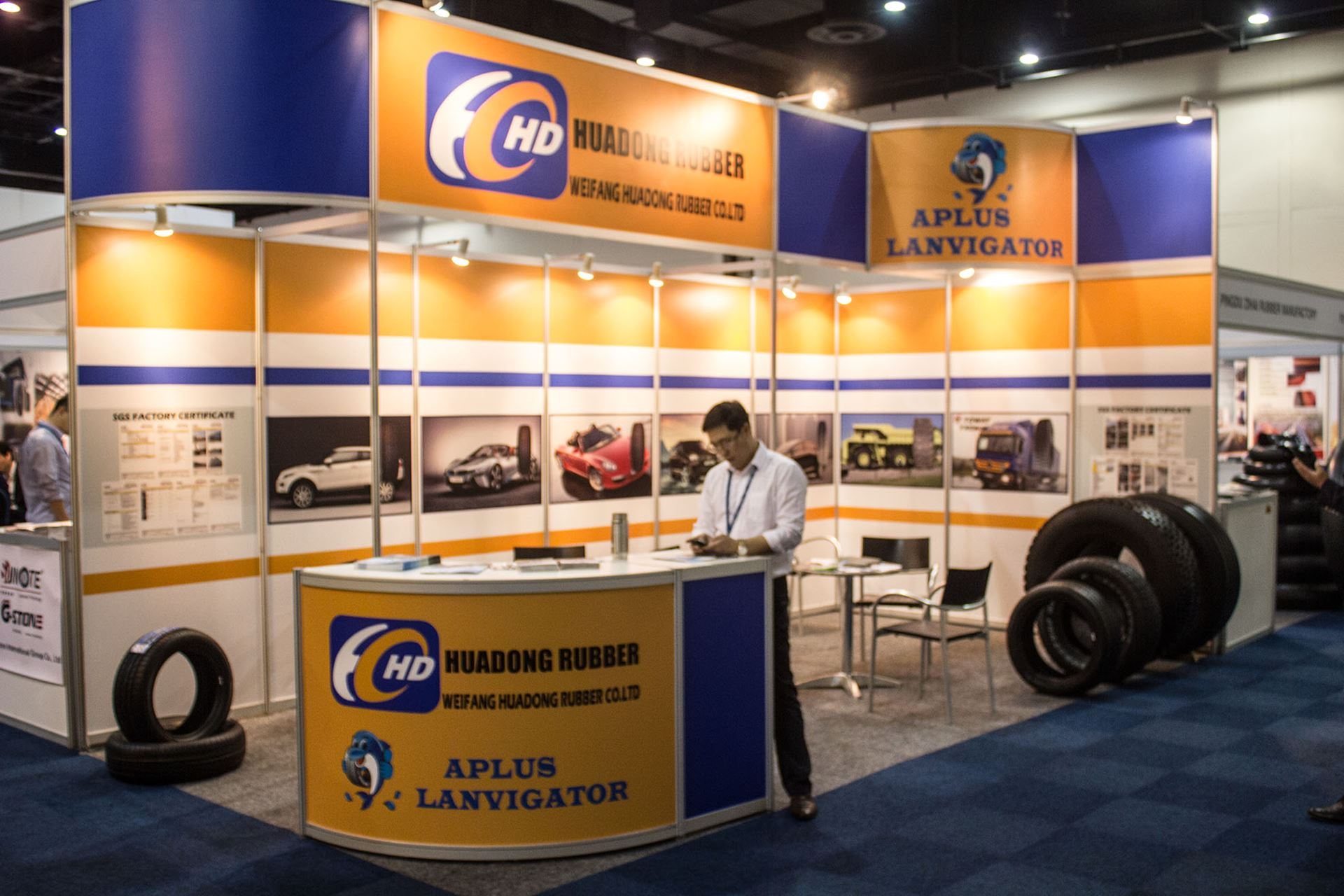Tyre-Expo-South-Africa-2014-Huadong-rubber-Tyre
