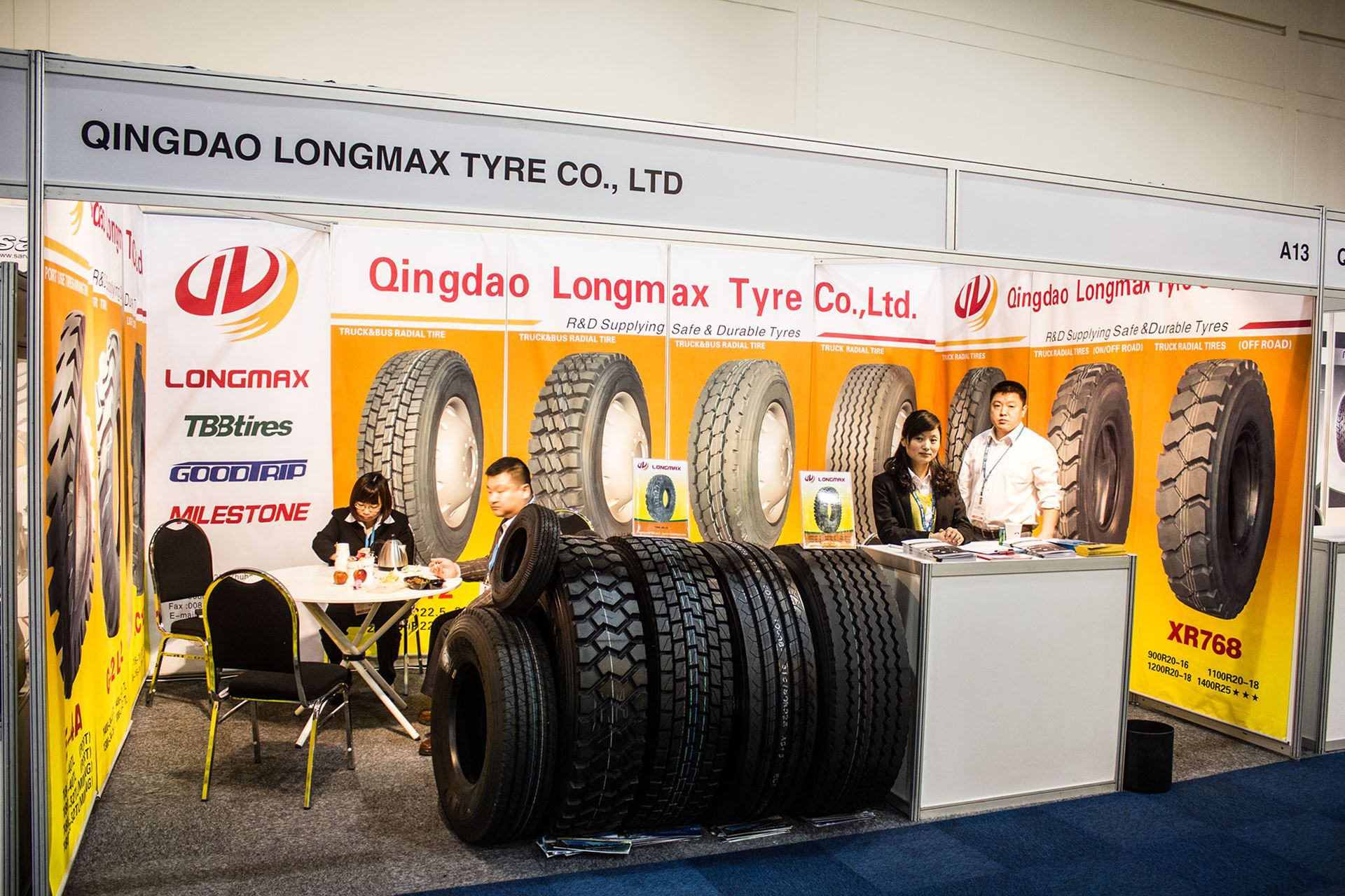 Tyre-Expo-South-Africa-2014-Qingdao-Longmax-Tyre