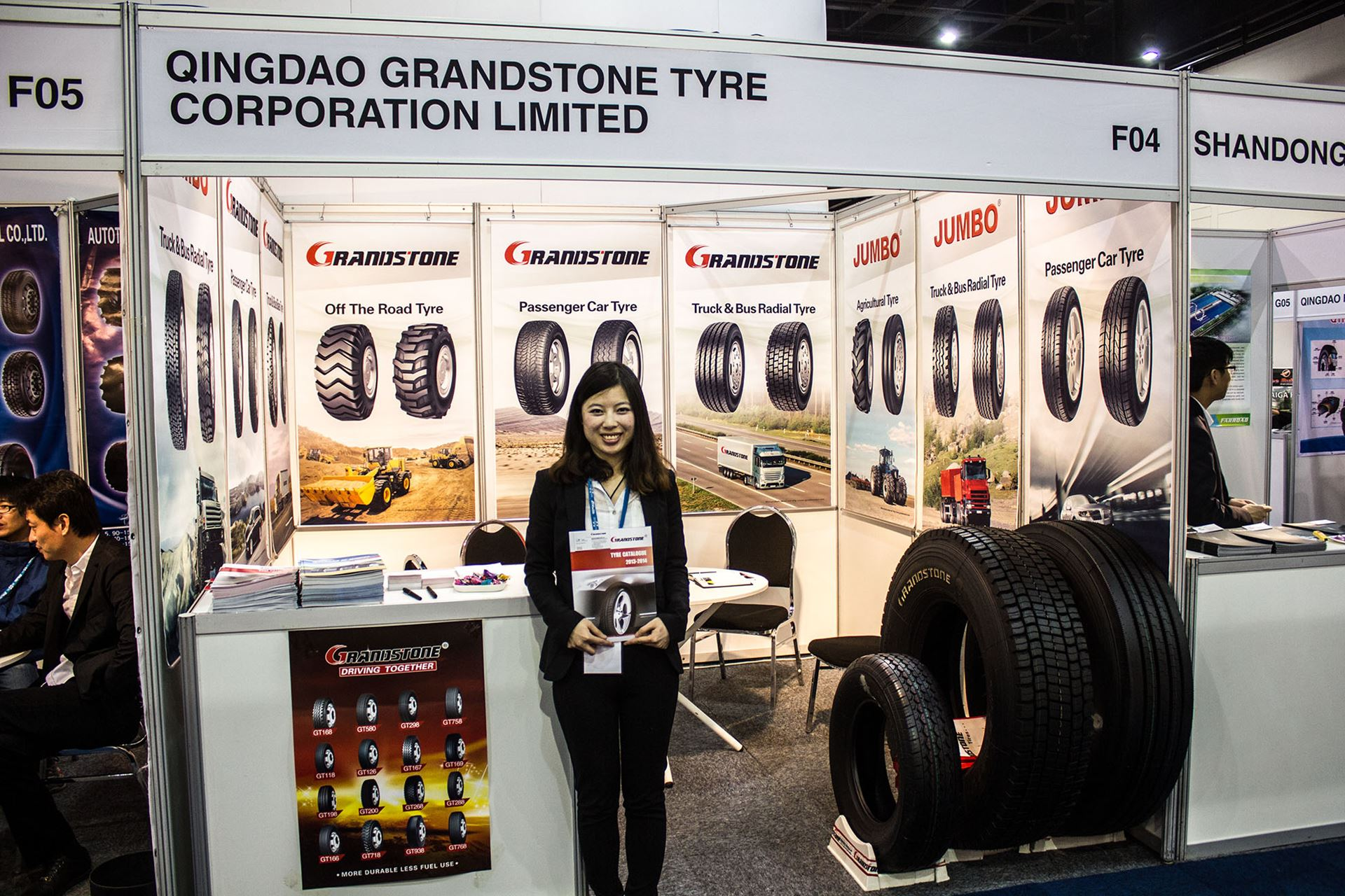 Tyre-Expo-South-Africa-2014-Qingdao-grandstone-tyres