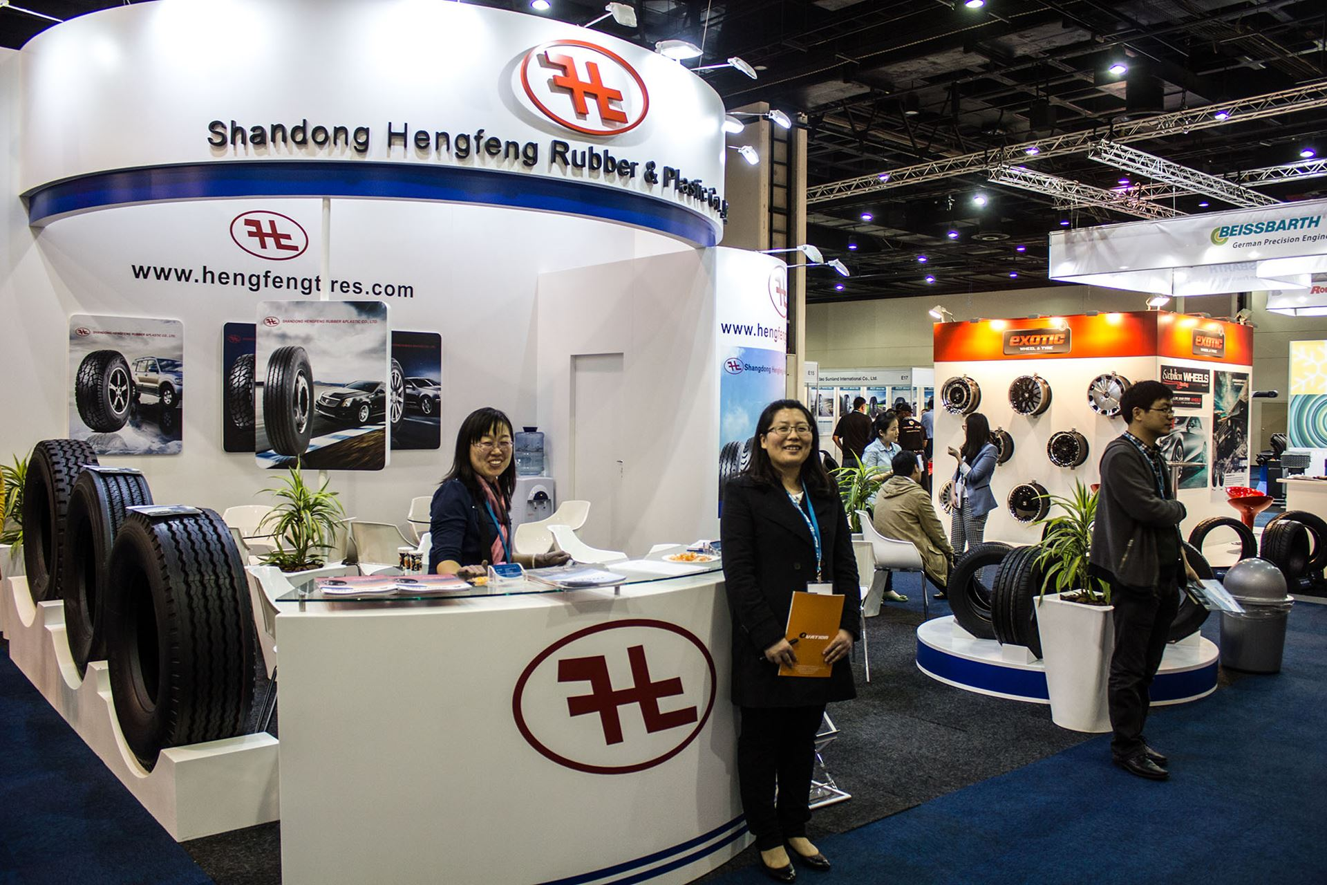 Tyre-Expo-South-Africa-2014-Shangdong-Hengfeng-Tyres