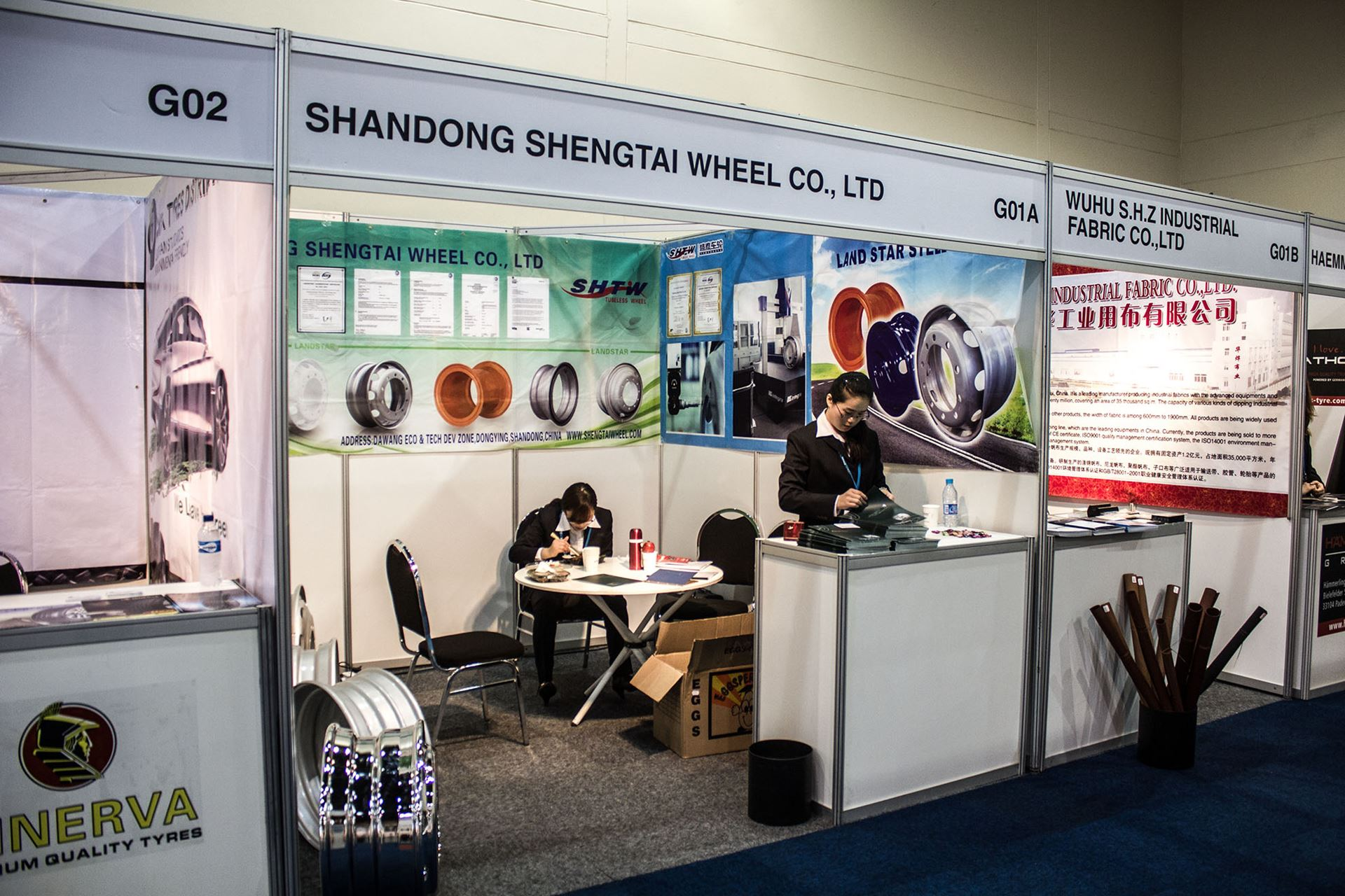 Tyre-Expo-South-Africa-2014-shangdong-shengtai-tyres