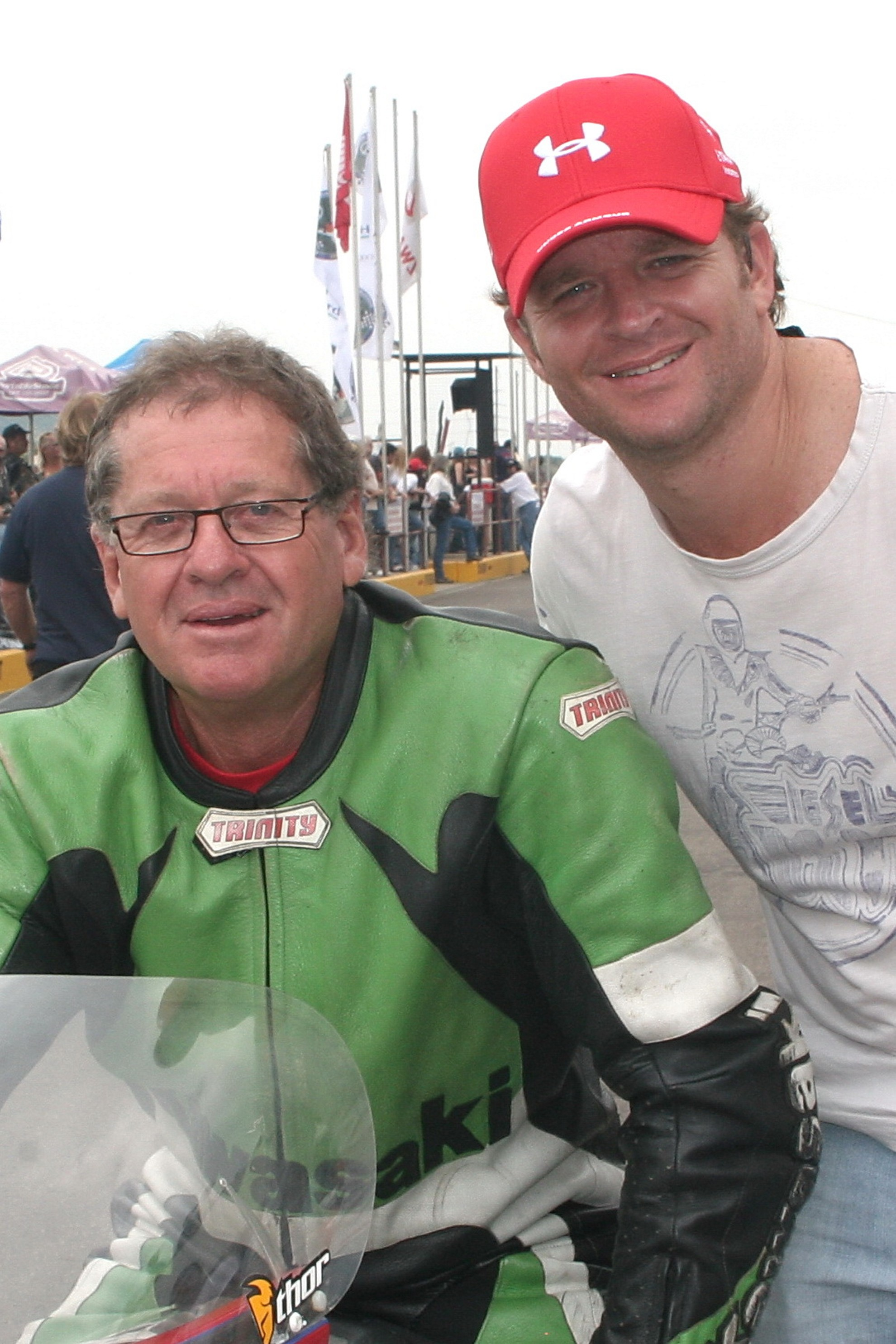 Ian and Jaki Scheckter