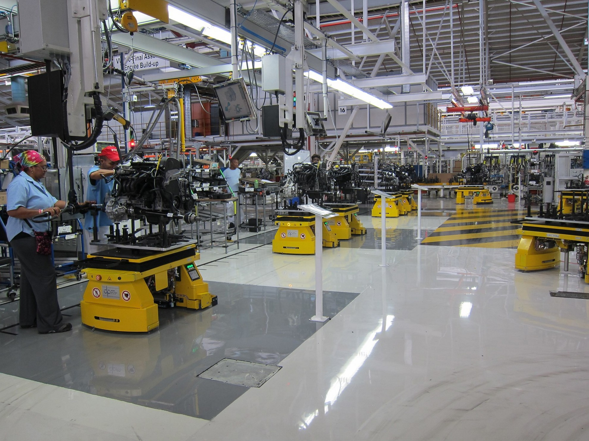 Volkswagen Group South Africa S Manufacturing Plant