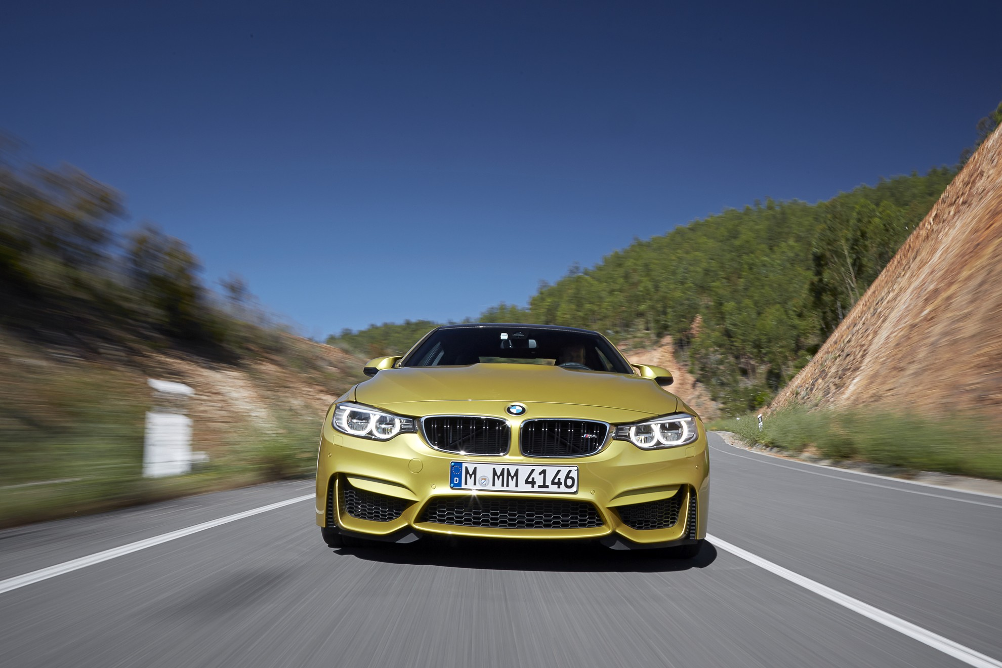 The new BMW M3 Sedan and new BMW M4 Coupe
