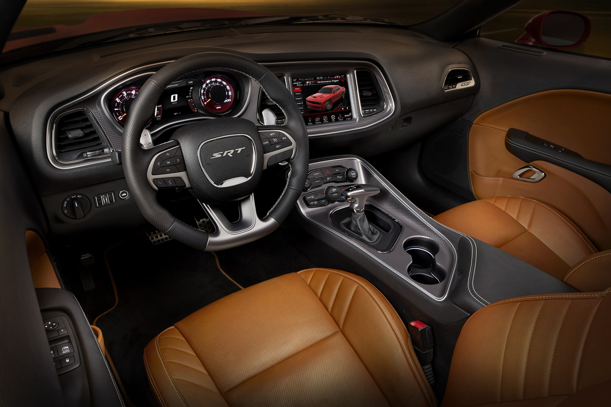 Dodge-Challenger-Inside