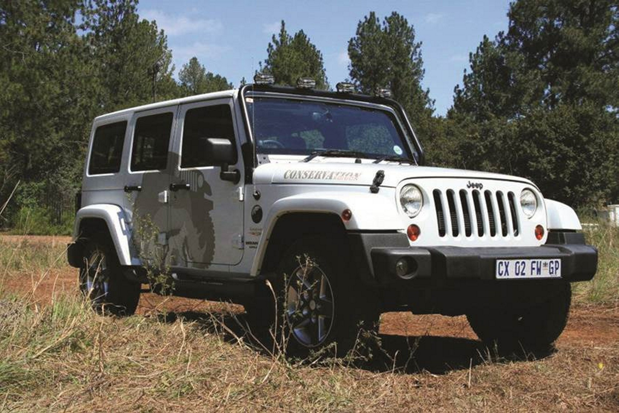 Jeep Wrangler Conservation Edition