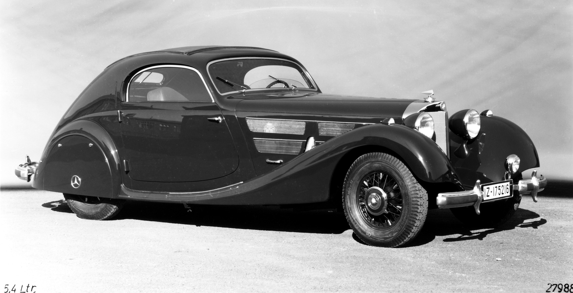 Highlights of the the mercedes benz 540 k streamliner for Mercedes benz classic cars