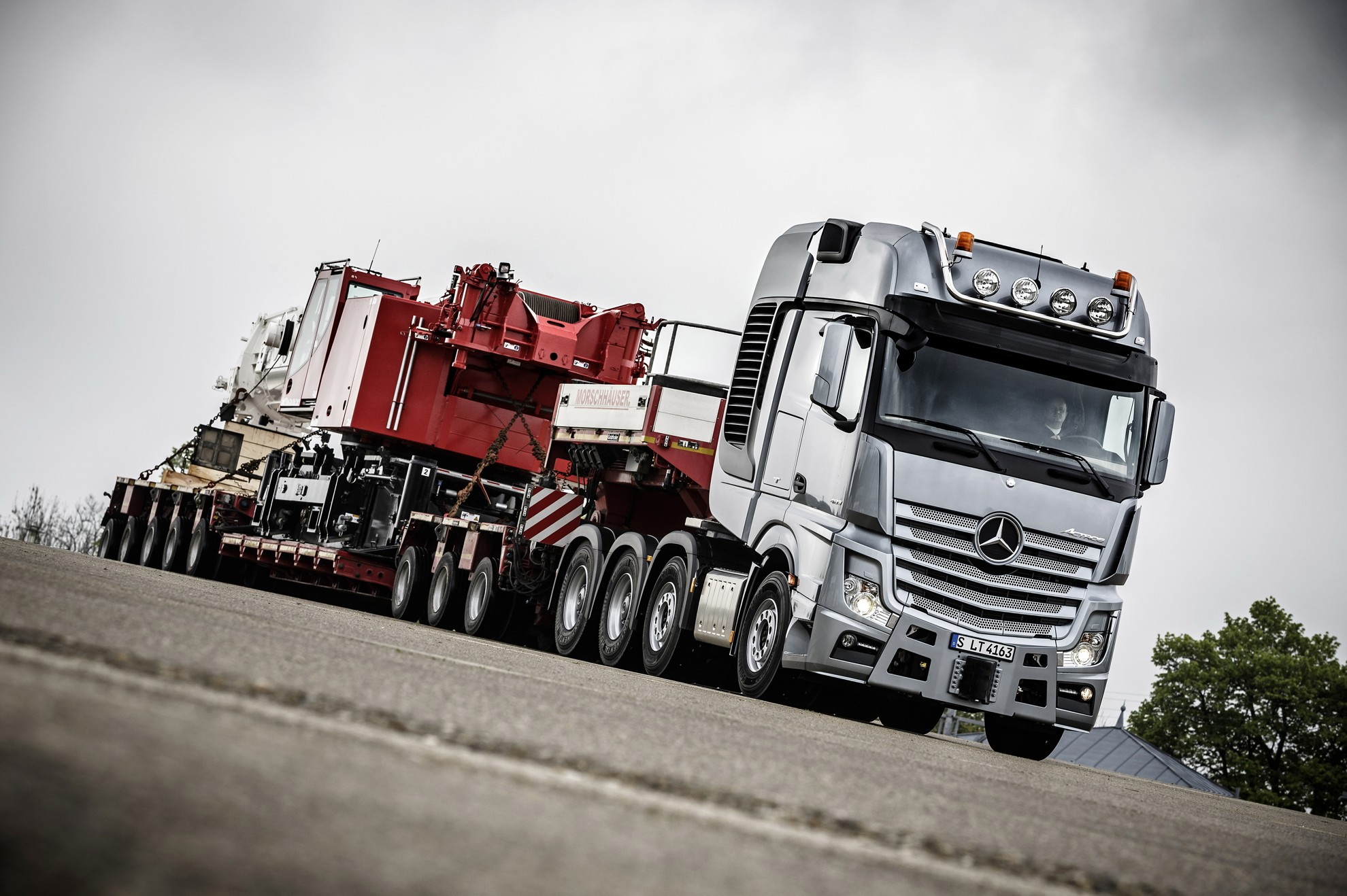 Mercedes Benz Slt Heavy Duty Trucking