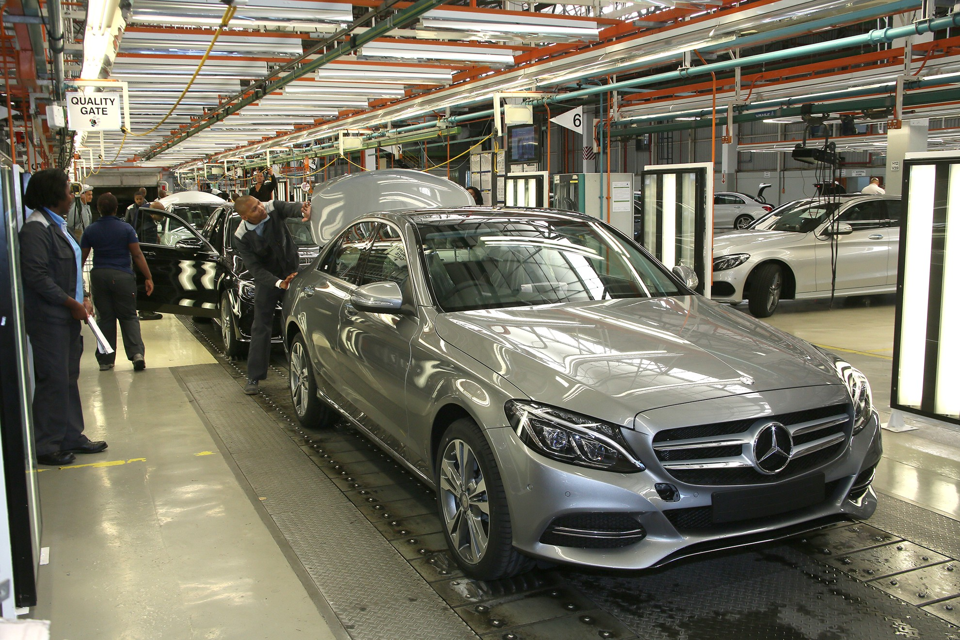 Skills training and job creation mercedes benz c class for Mercedes benz training and education