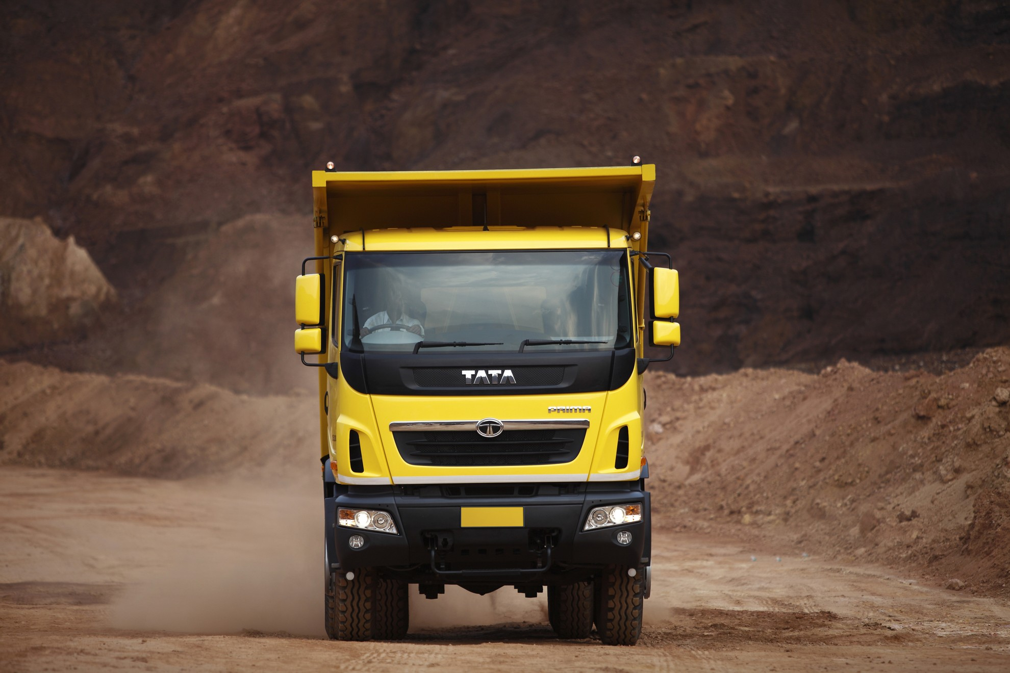 Tata Trucks Launch Prima Heavy Trucks In Qatar