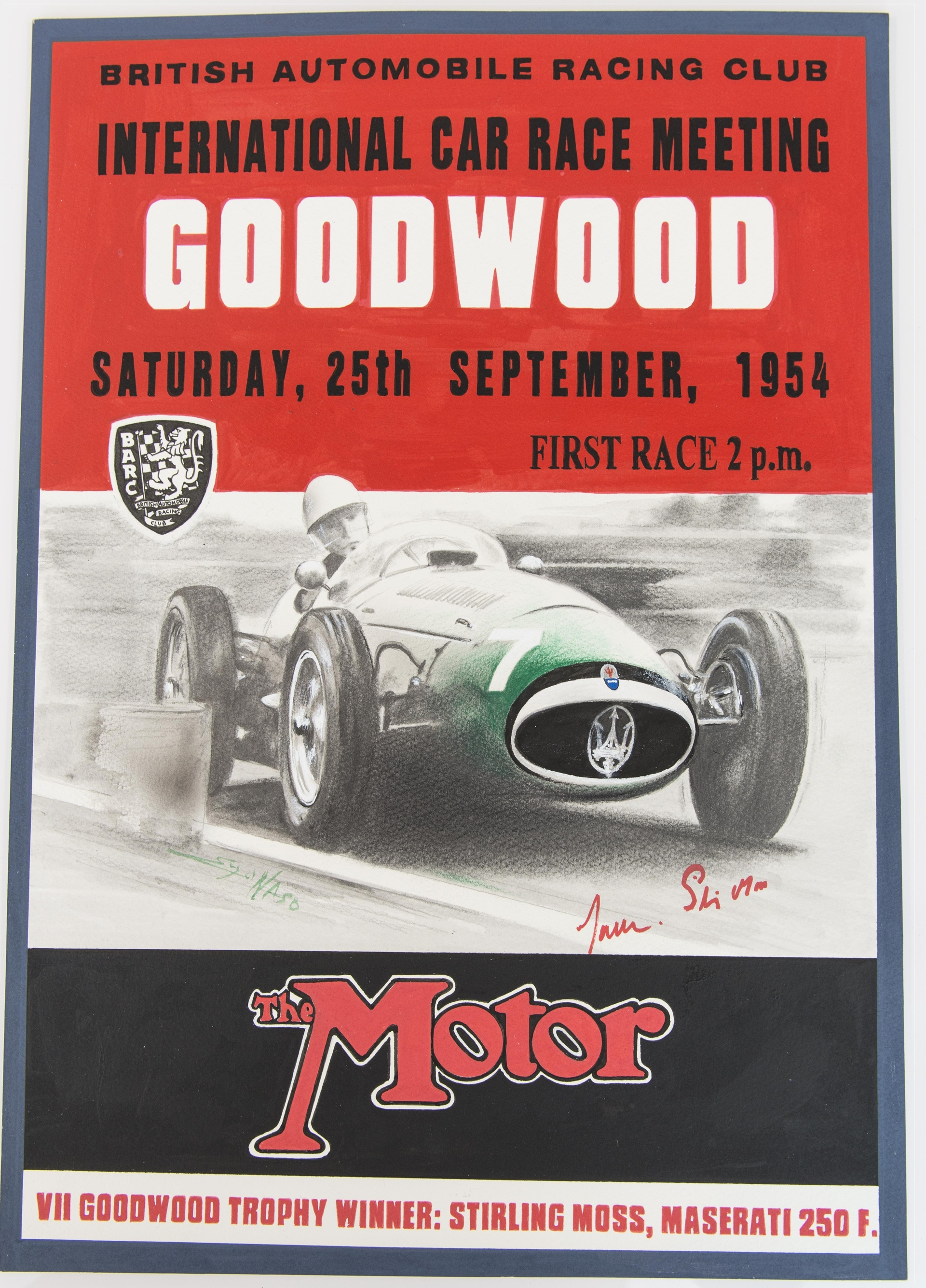 A_Century_of_Victories_Goodwood_lithograph