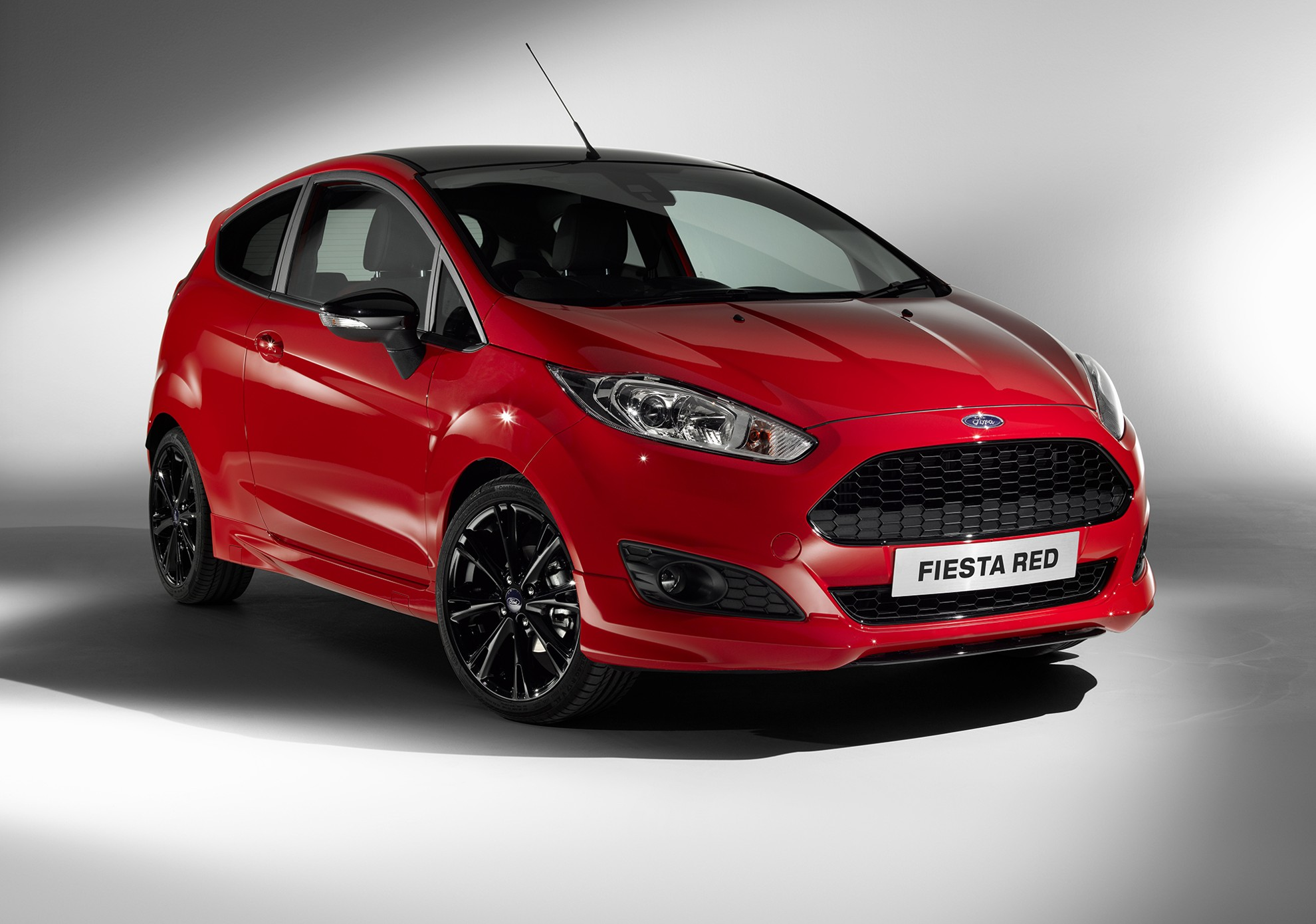 ford fiesta zetec red and black edition. Black Bedroom Furniture Sets. Home Design Ideas