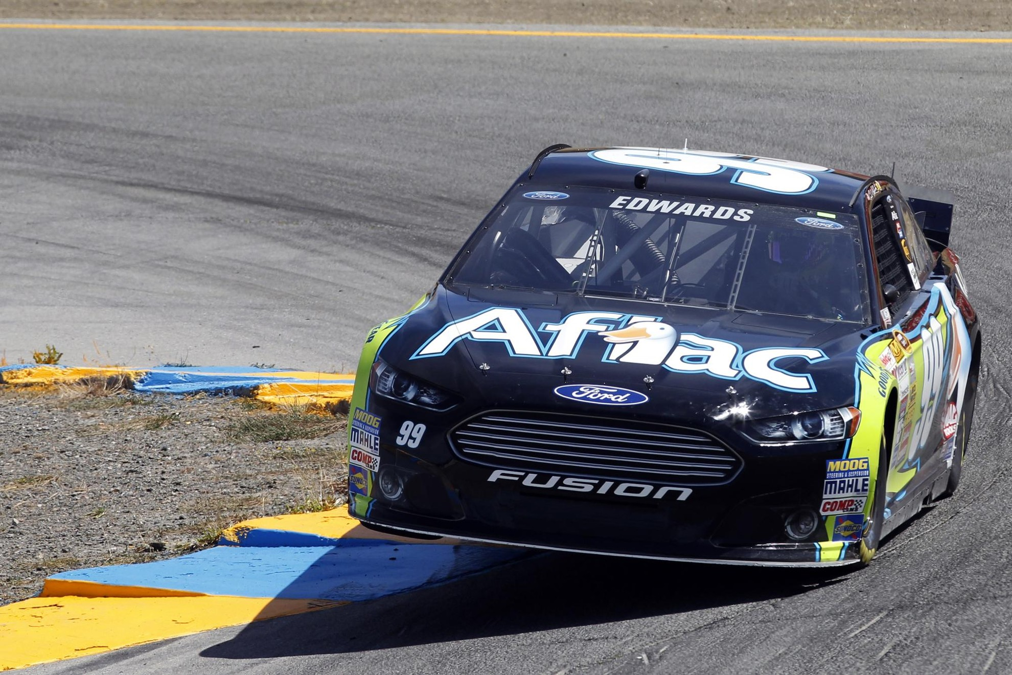 Ford Fusion Wins First Nascar Sprint Cup Series