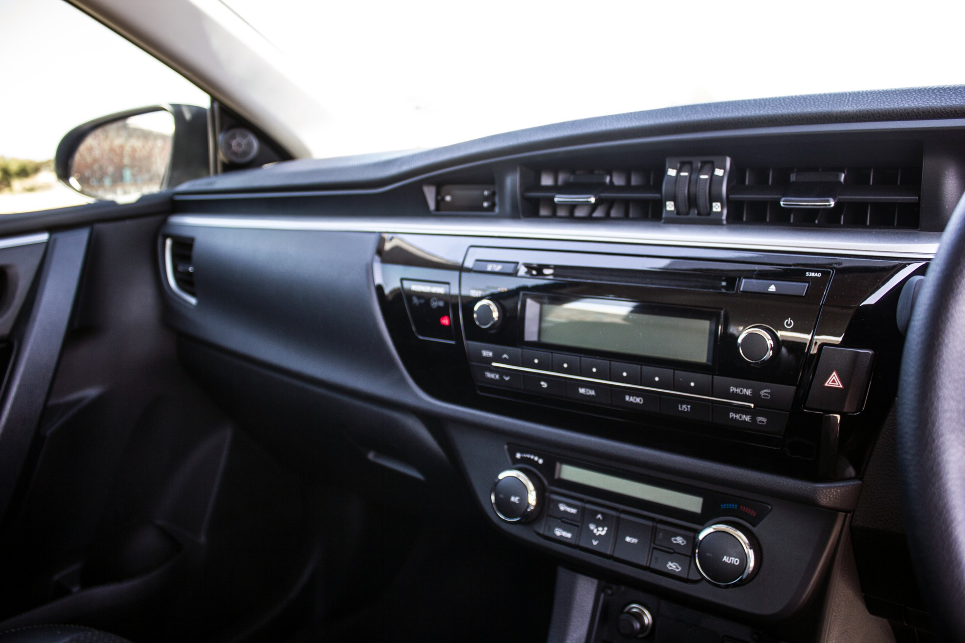 The New Toyota Corolla Sprinter Interior looks very modern and the new