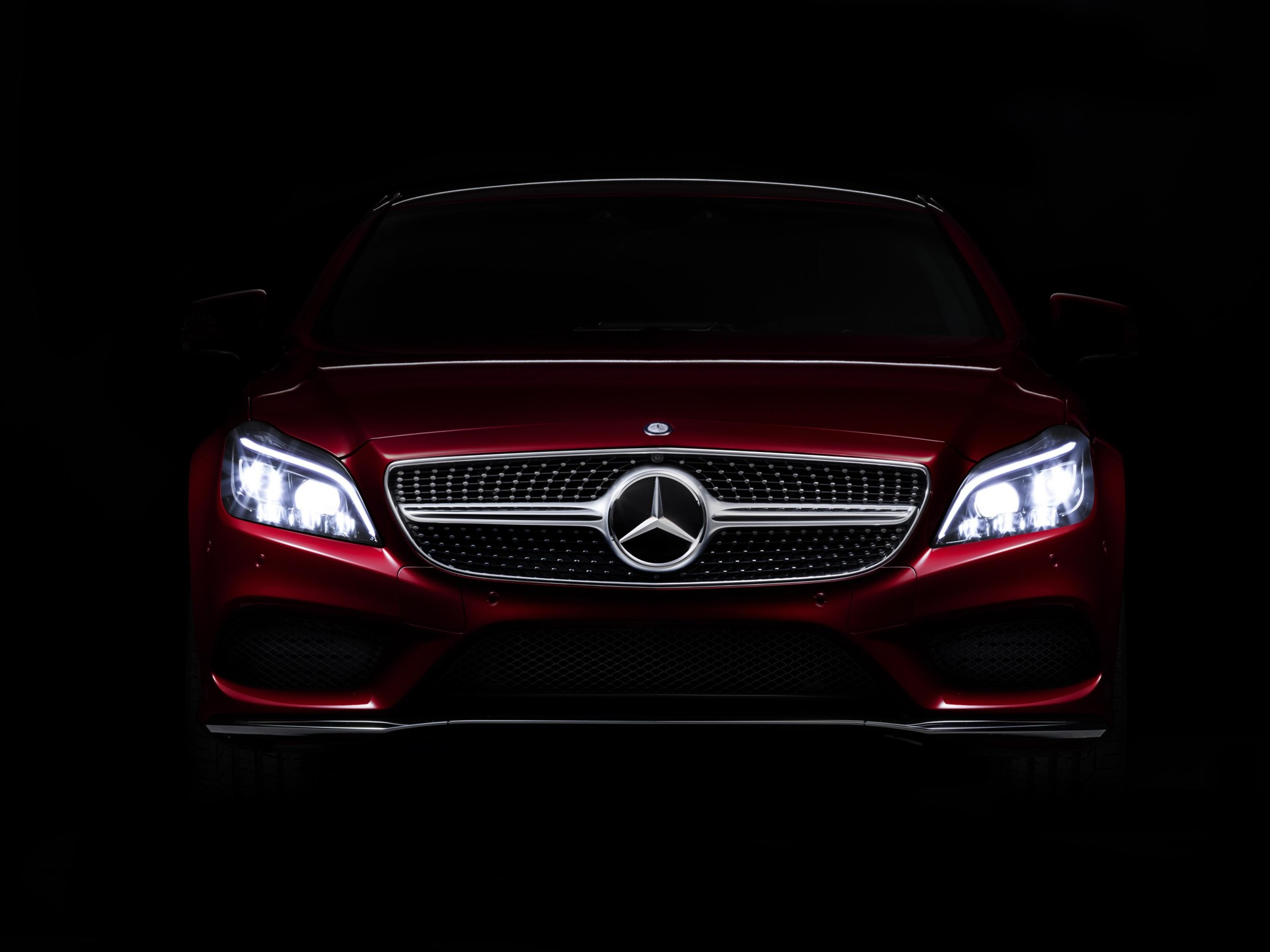 new mercedes benz lights technology